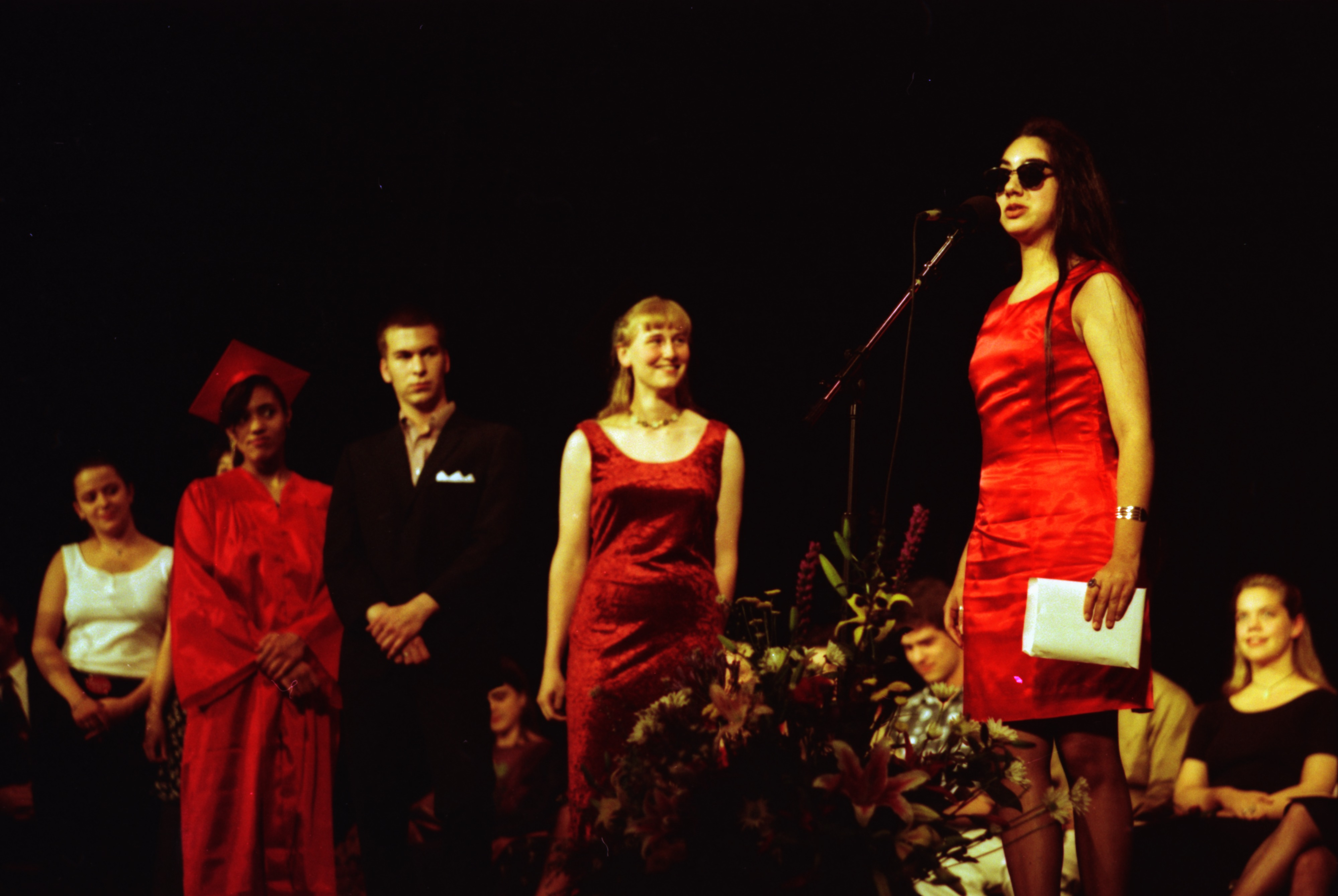 Renu Gupta Speaks At Community High School Graduation, June 1993 image
