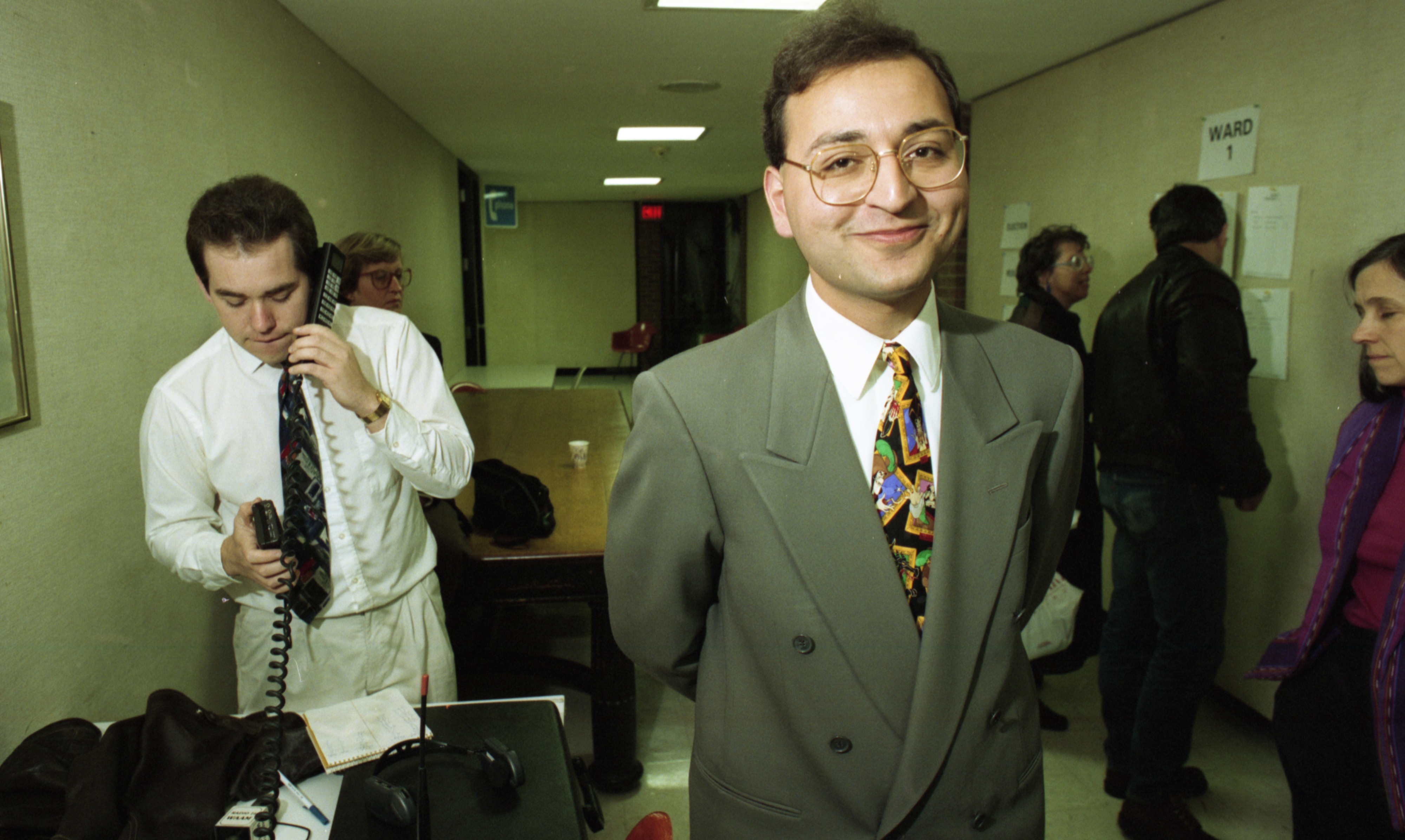 Peter Nicolas, Ann Arbor City Council Elections, November 1993 image