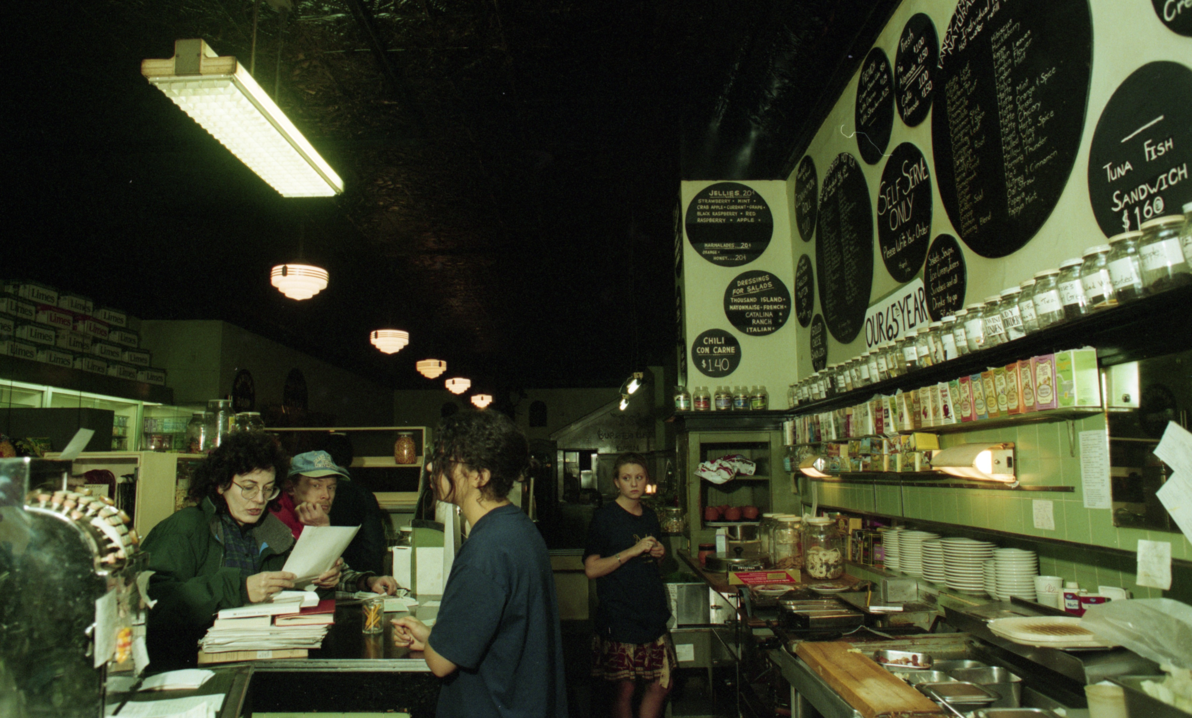 Front Counter At Drake's Sandwich Shop, November 13, 1993 image