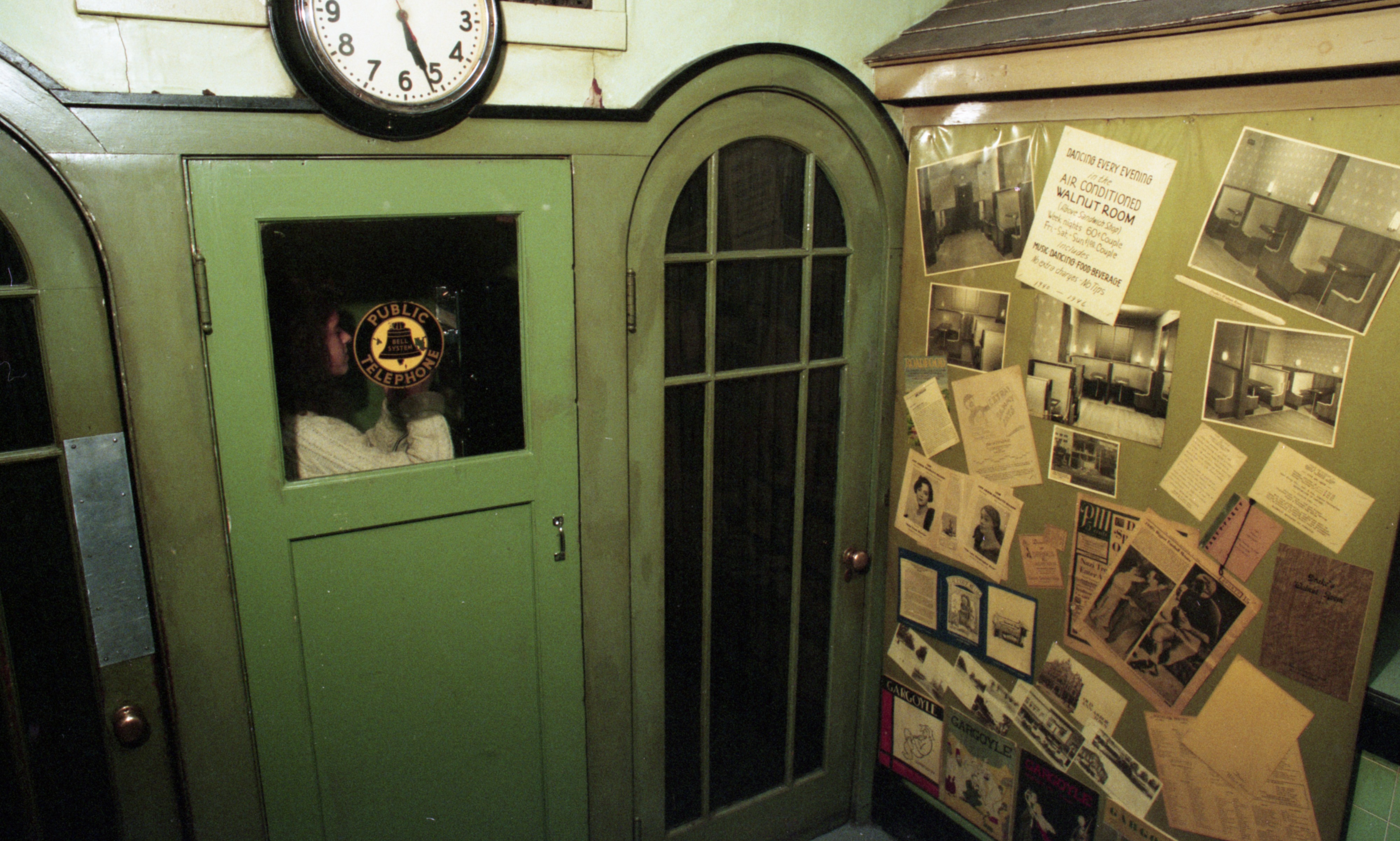 Phone Booth At Drake's Sandwich Shop, November 13, 1993 image