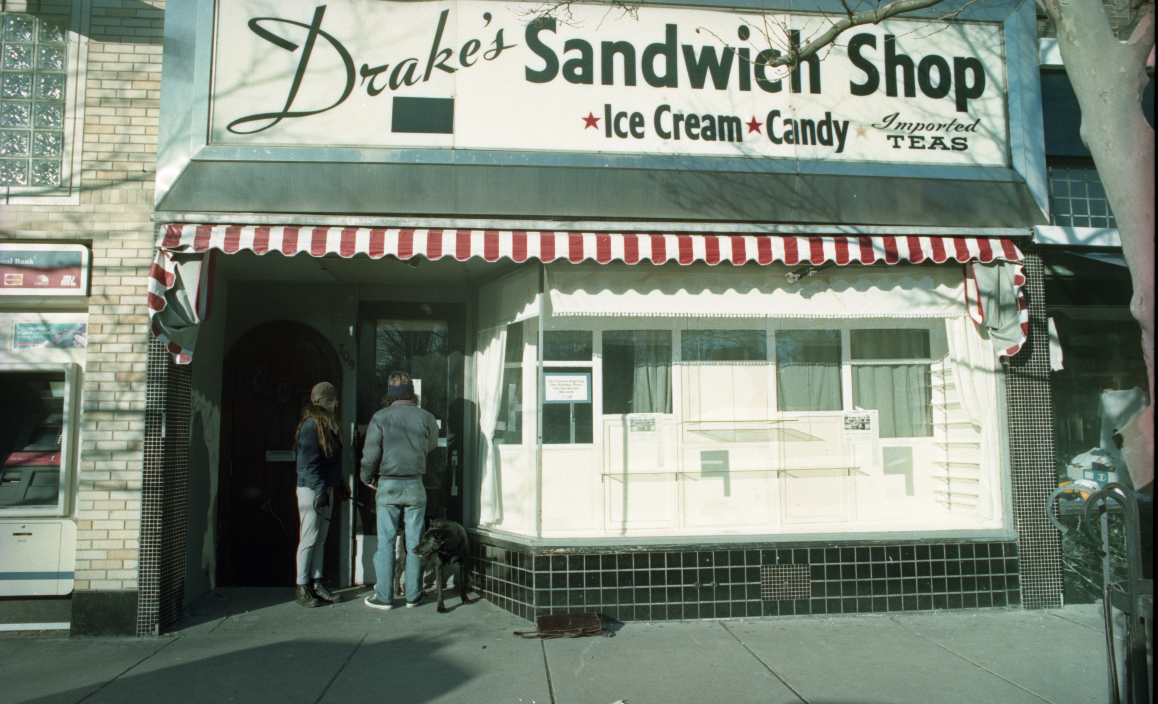 Exterior Of Drake's Sandwich Shop, December 29, 1993 image