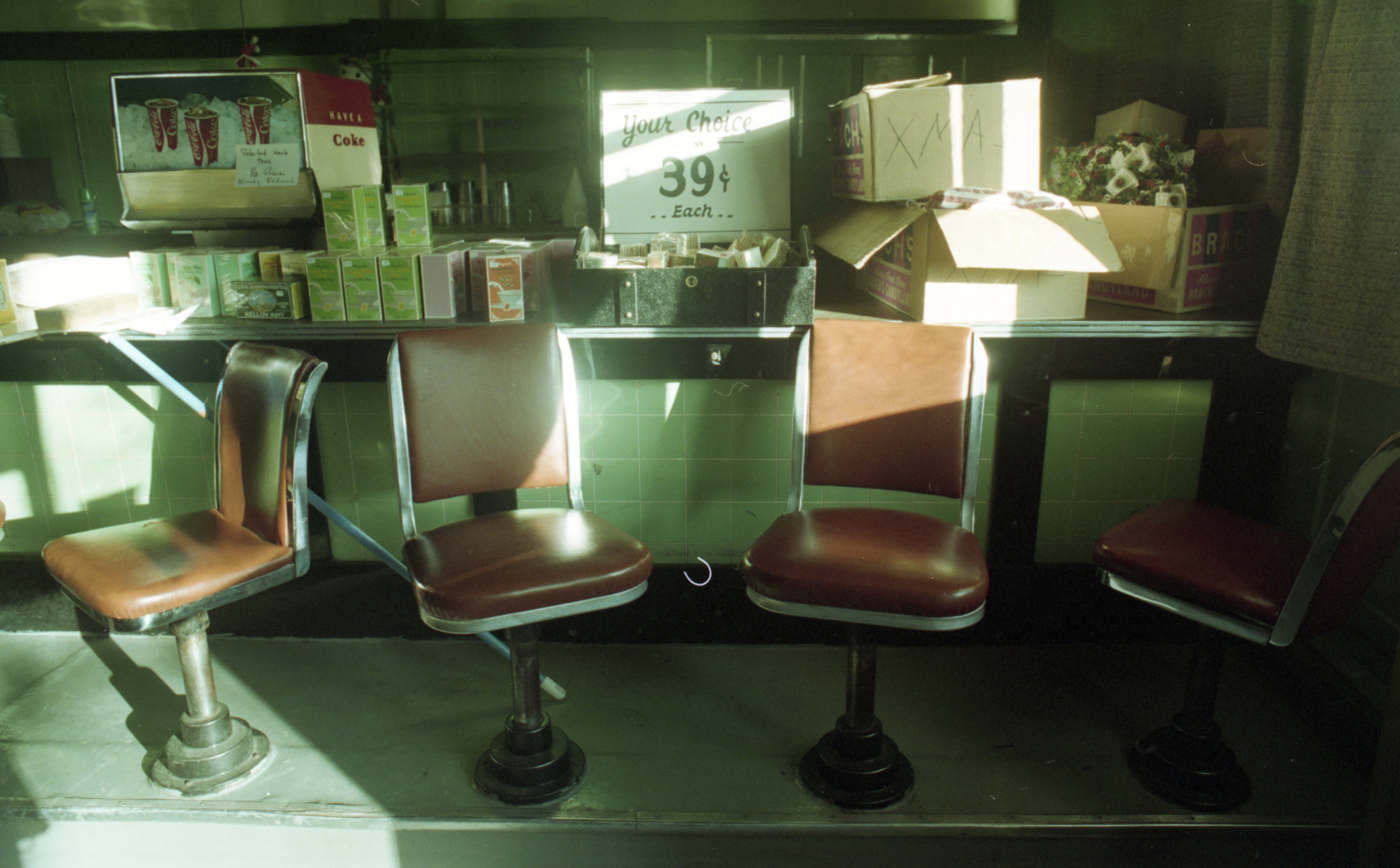 Interior Of Drake's Sandwich Shop, December 29, 1993 image