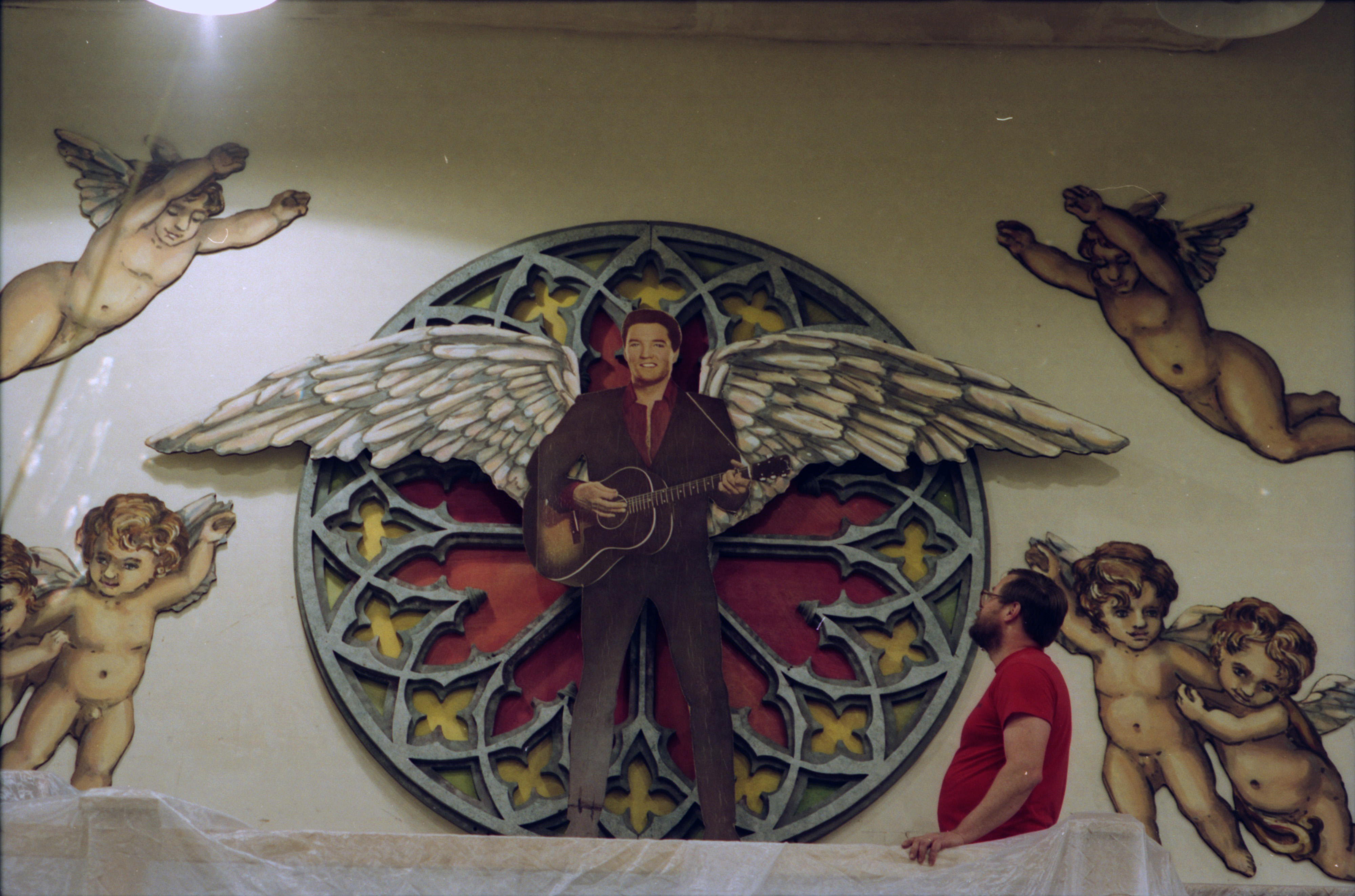 Elvis on Wings Display at the Power Center, January 1994 image