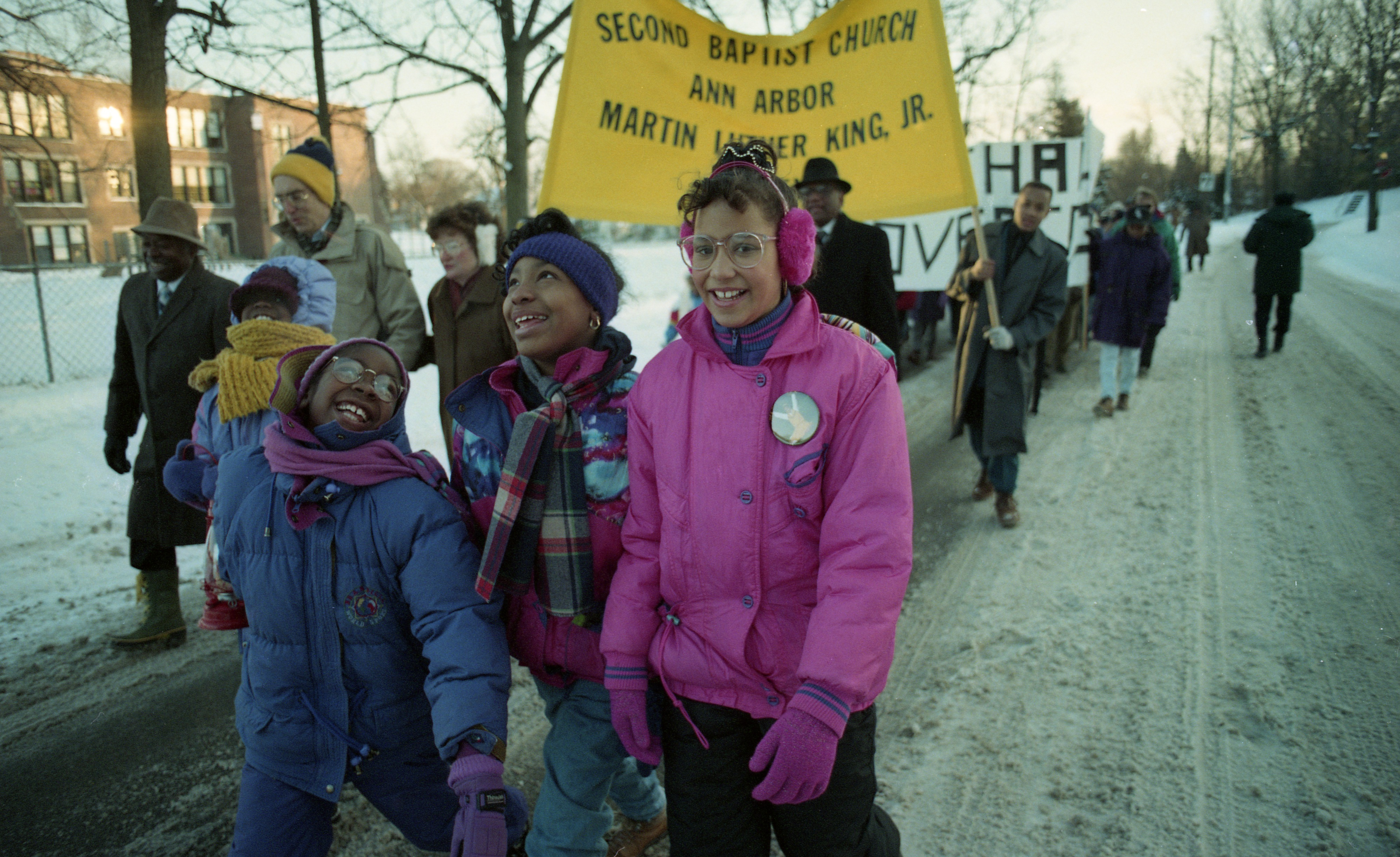 Second Baptist Church Annual Unity March To Honor Dr. Martin Luther King Jr., January 1994 image
