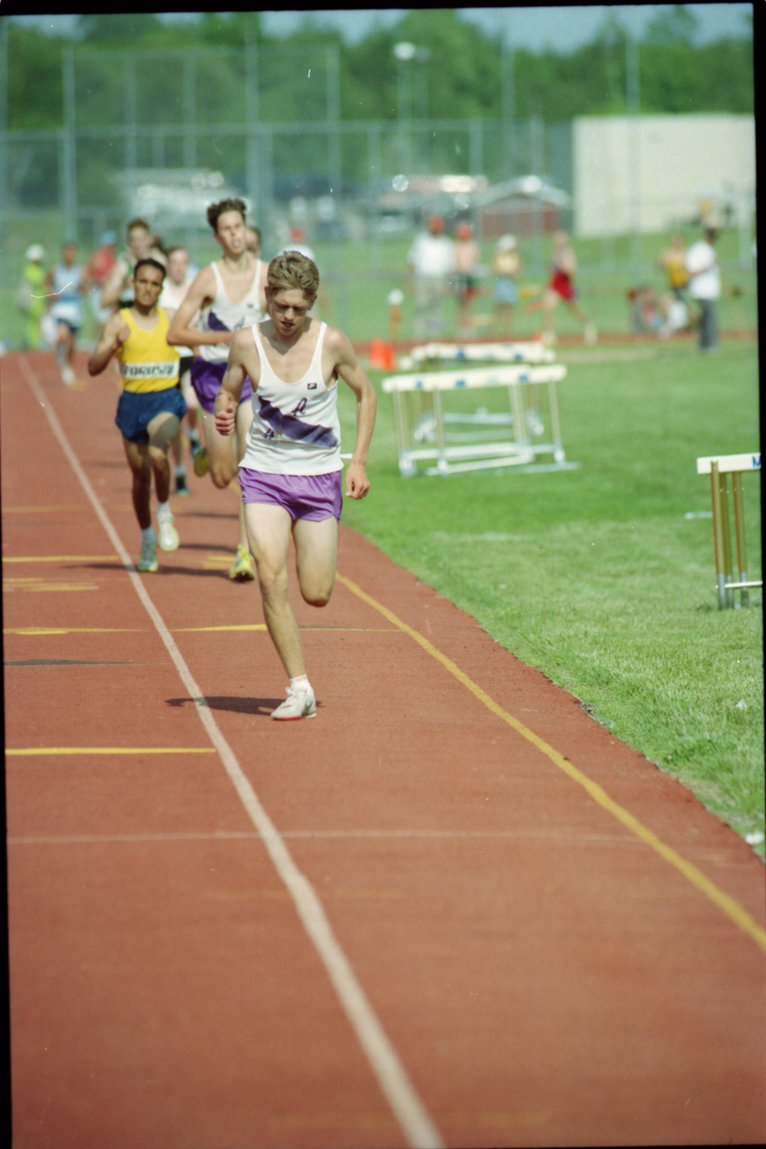 Pioneer Runners Participate in Boys' State Track Meet, June 1994 image