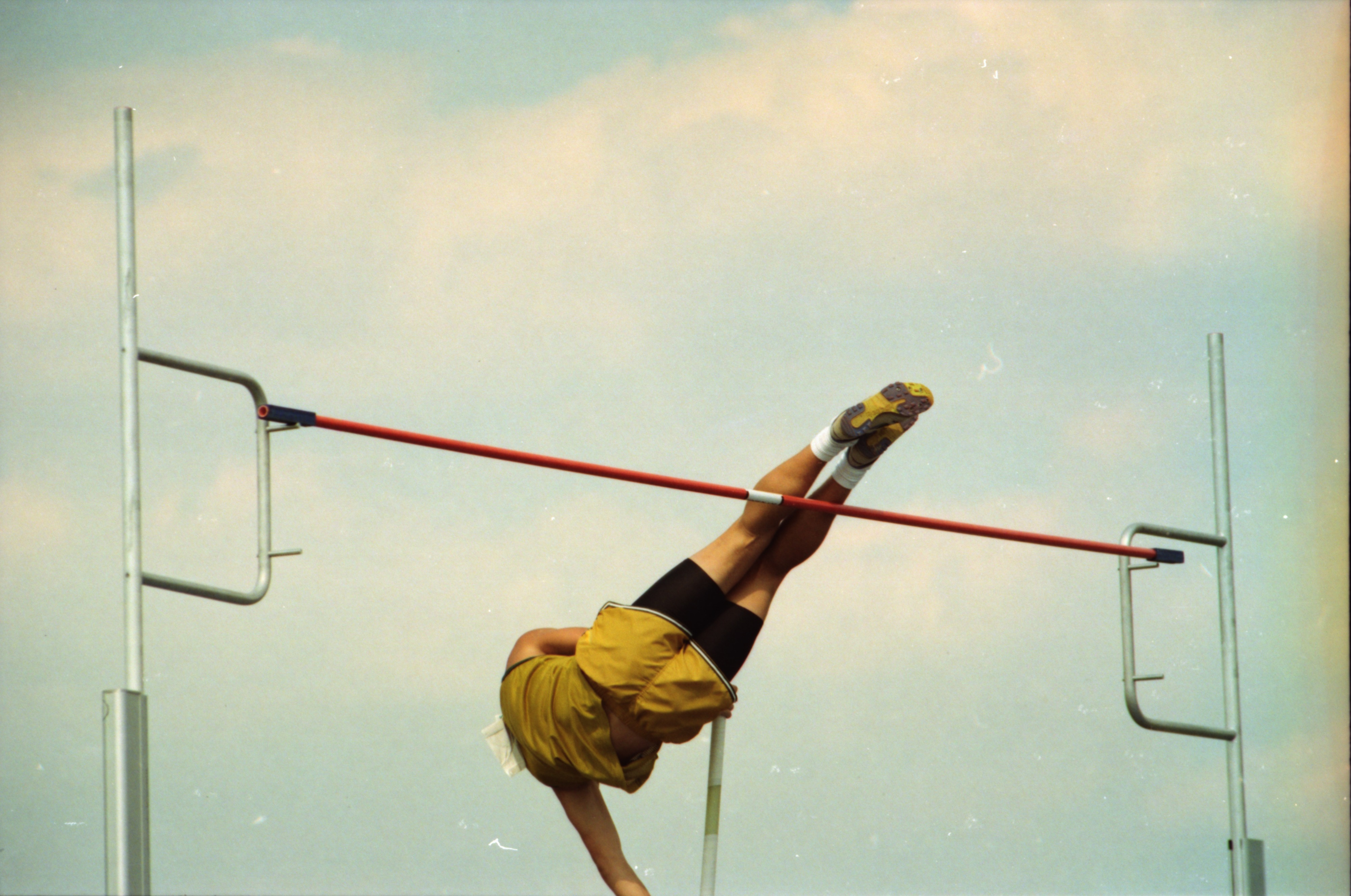 Pole Vault at Boys' State Track Meet, June 1994 image
