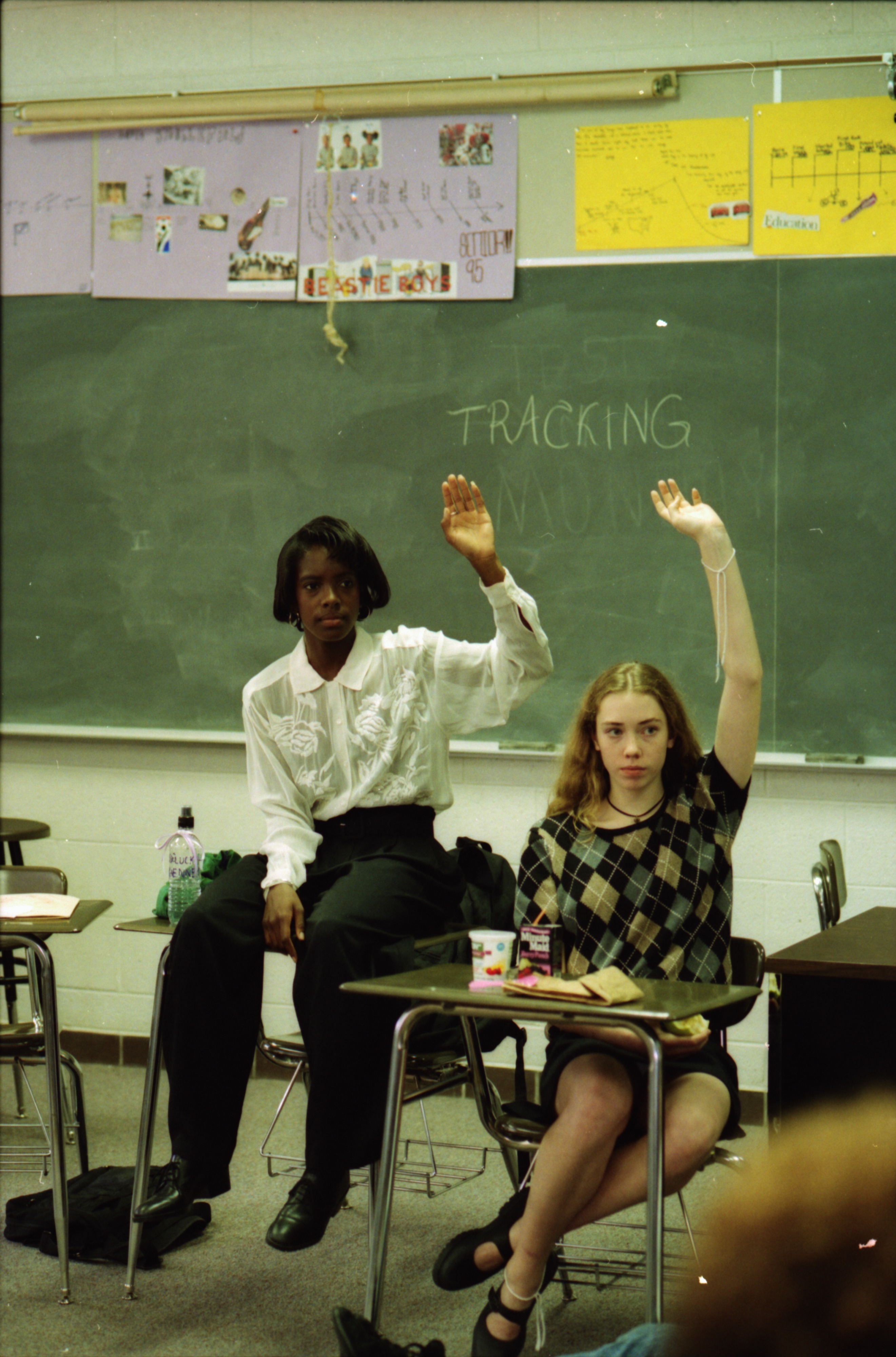 "Students Discuss Racism at Pioneer High School's ""Race Relations Teach-In"", October 1994 image"