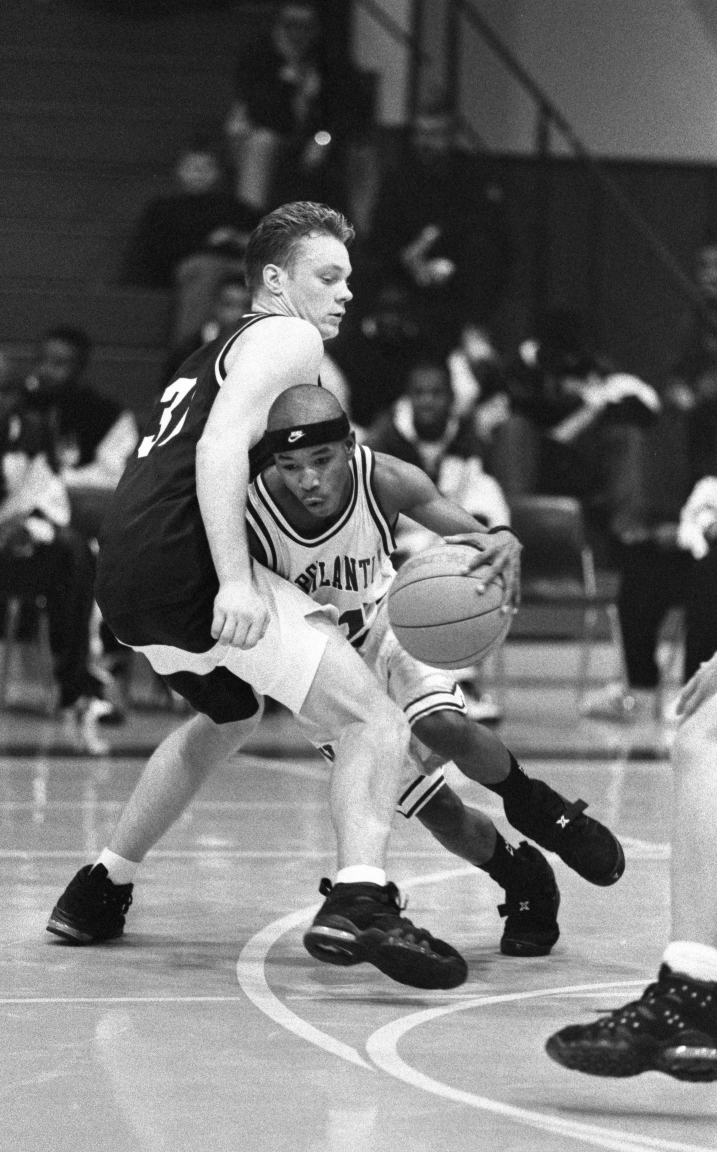 Boy's Basketball - Ypsilanti High School vs Detroit Catholic Central, December 1994 image