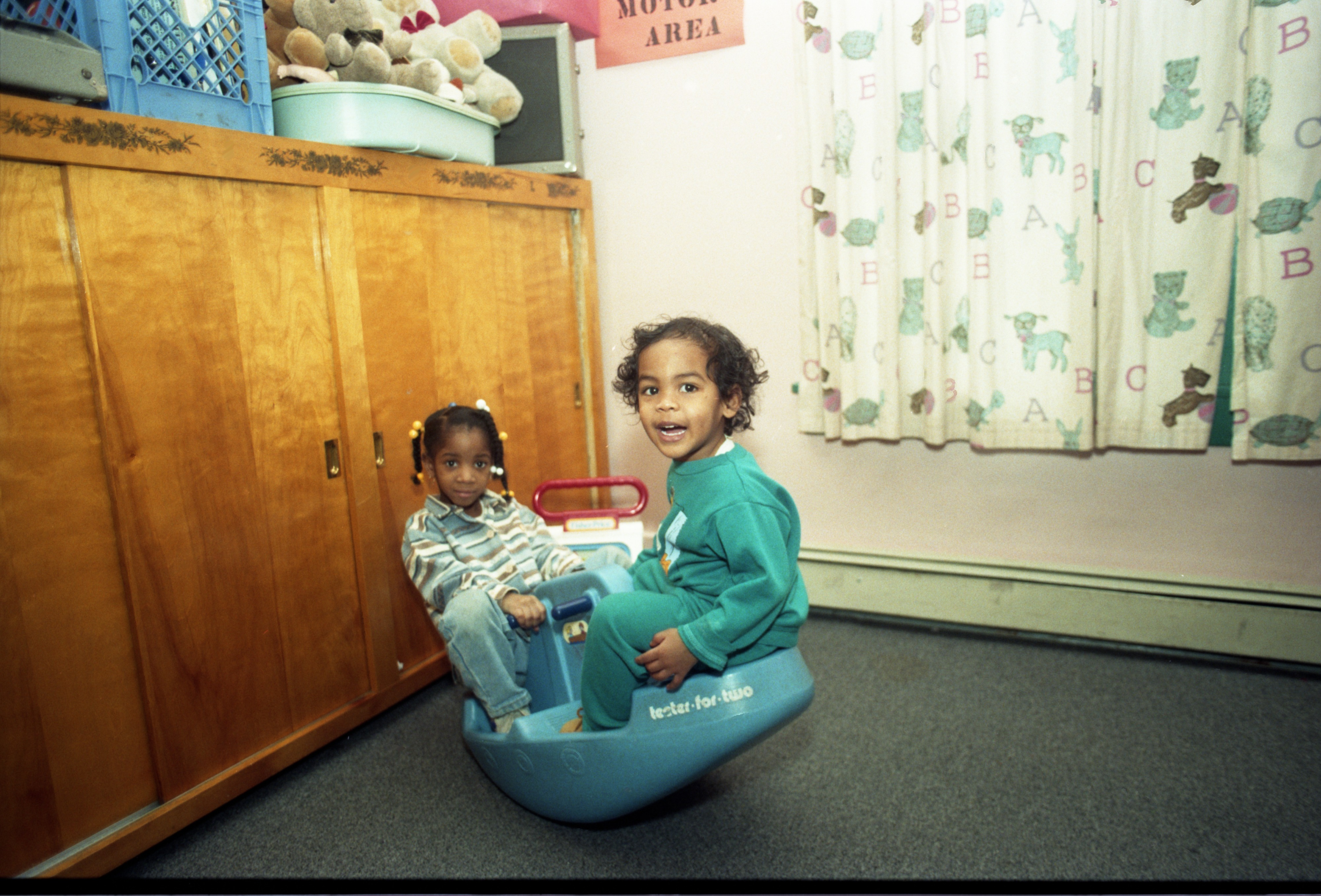 Kids Play At Noah's Ark Learning Center In Ypsilanti, March 22, 1995 image