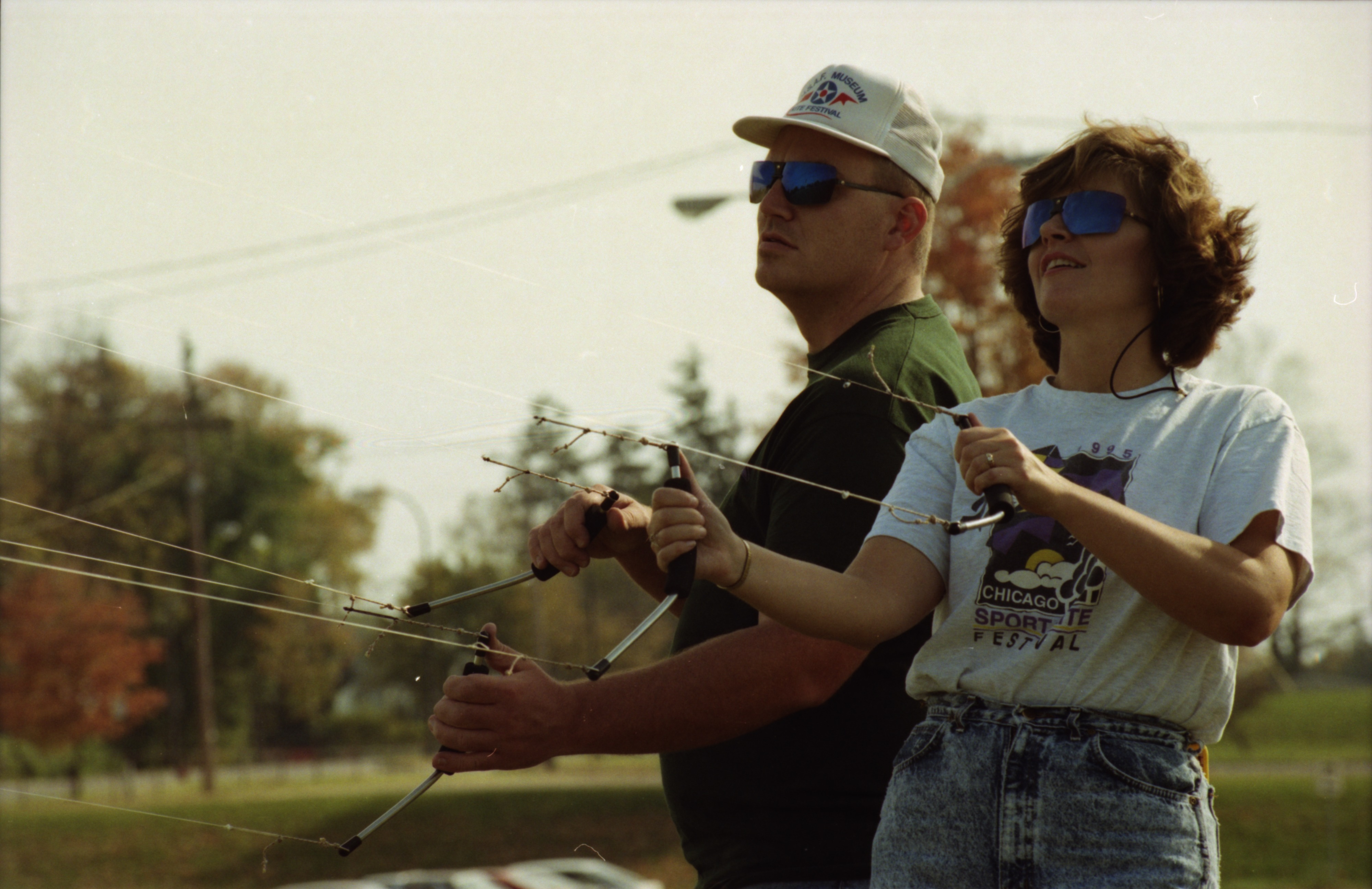 Sport Kite Flyers, October 1995 image
