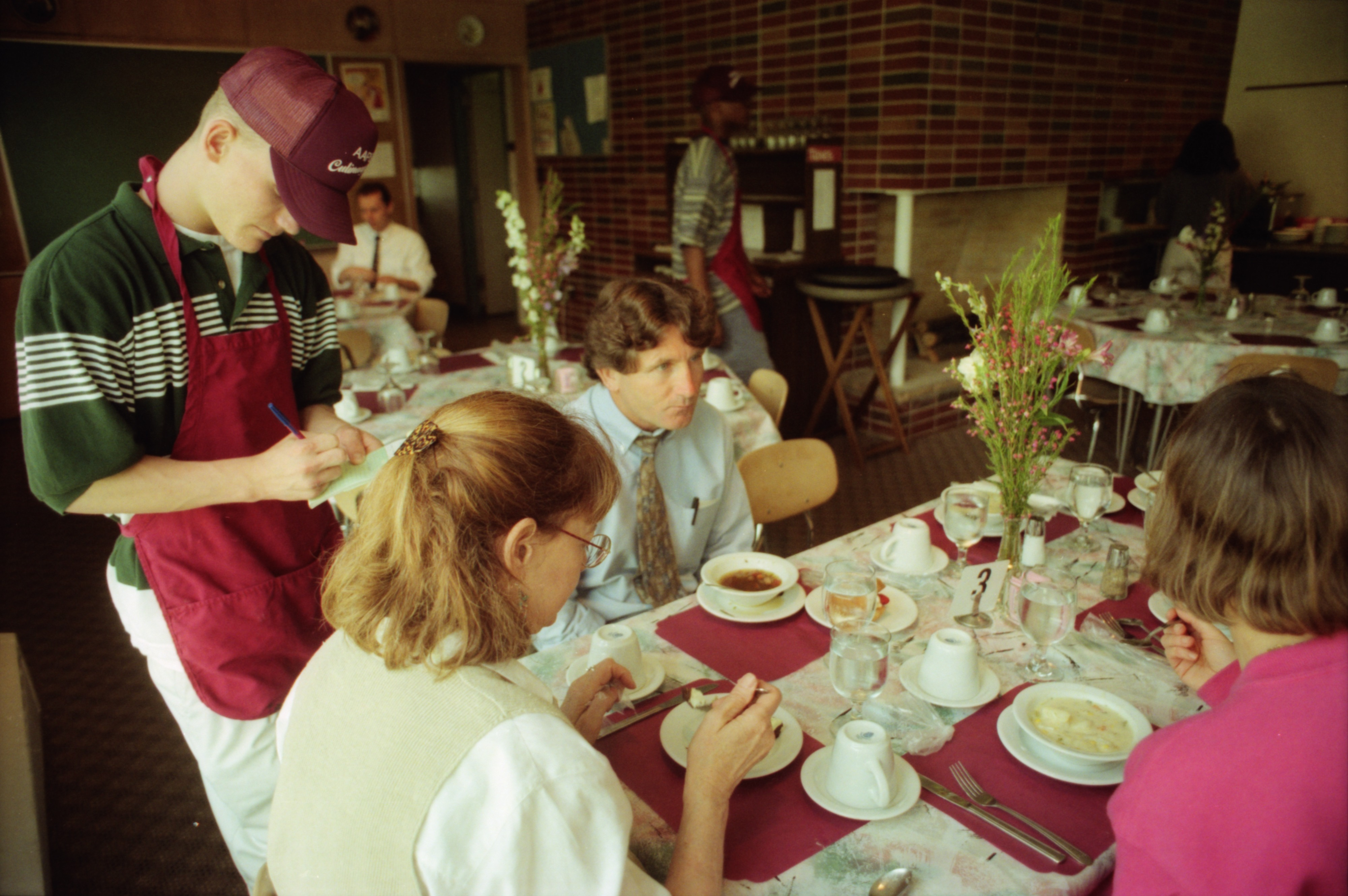 Pioneer High School Culinary Arts Covered Wagon Restaurant A Hit With Staff, May 1996 image