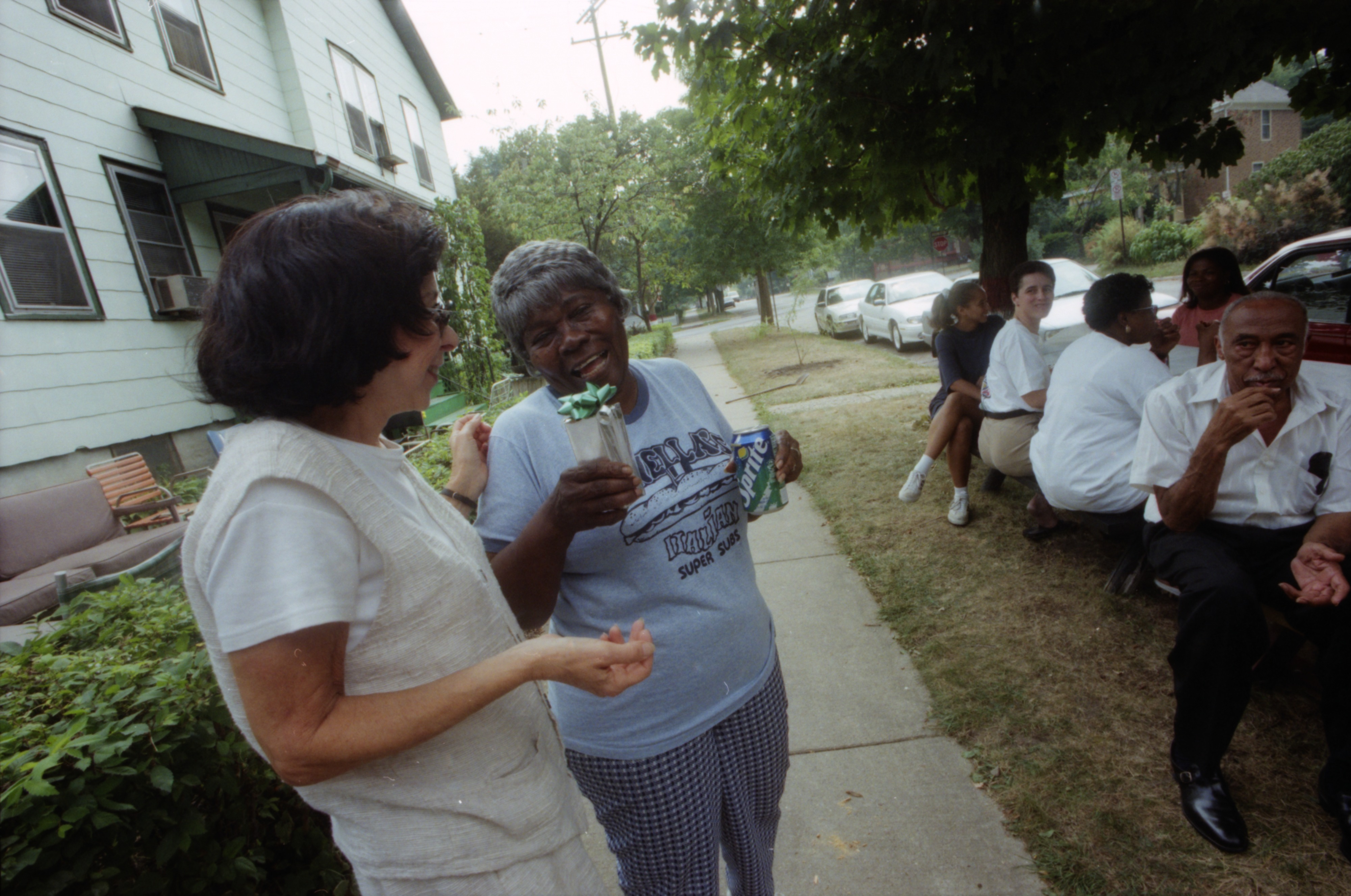 Johnnie Mae Seeley's annual barbecue, September 2, 1996 image