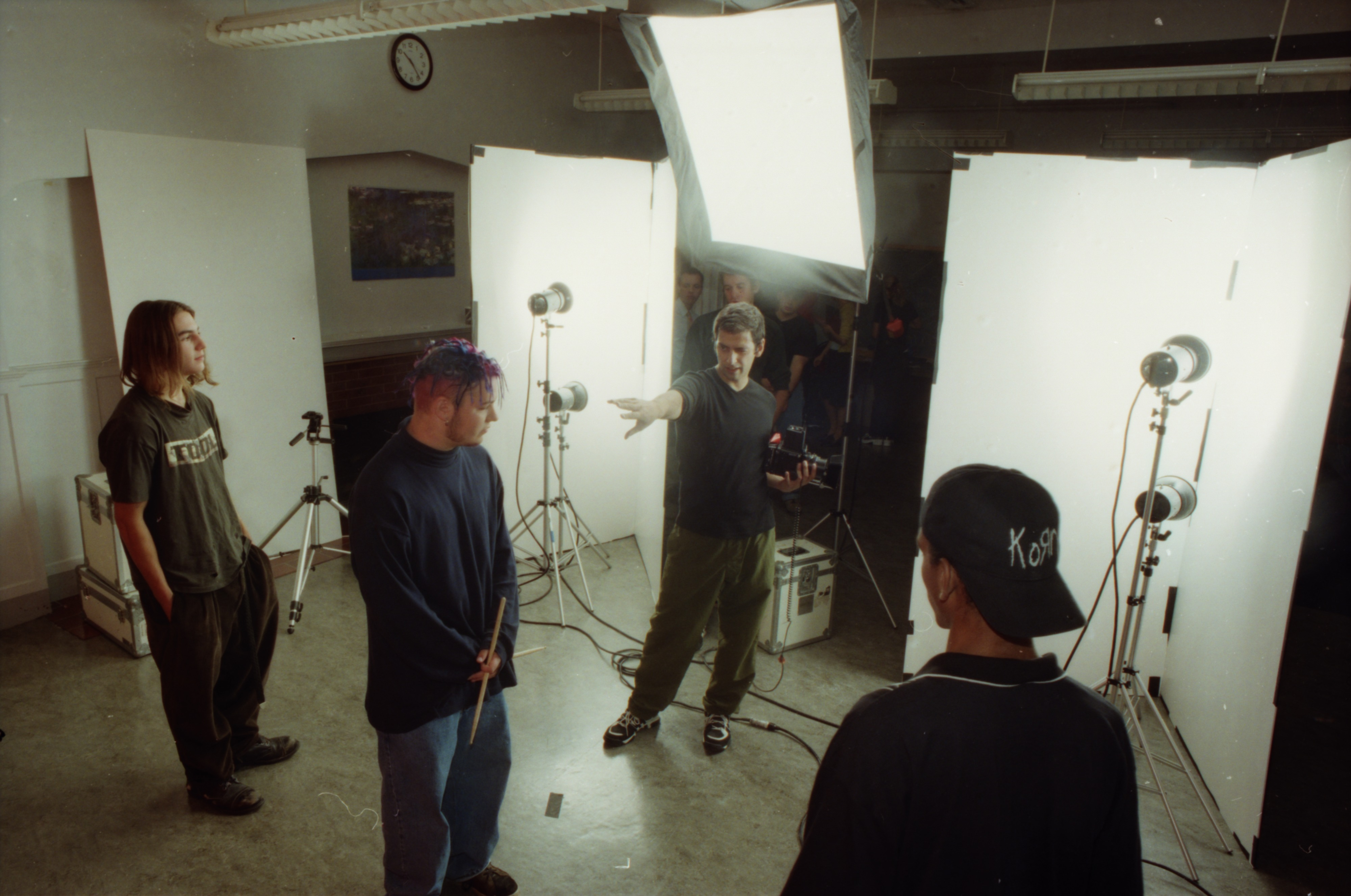 Community High Students Participate in a Photo Shoot for Seventeen Magazine, September 1996 image