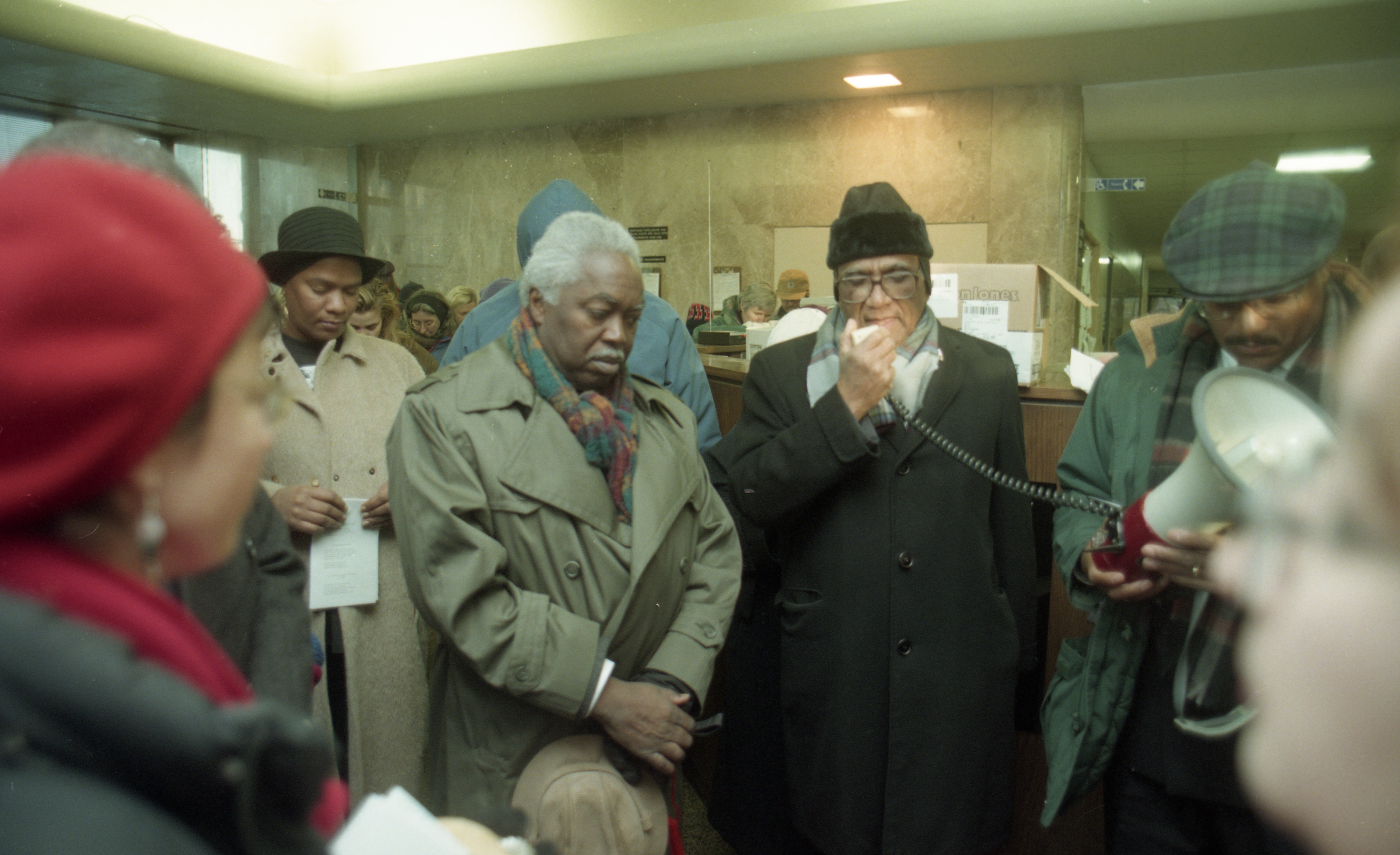 Second Baptist Church Annual Unity March To Honor Dr. Martin Luther King Jr. Gets Under Way, January 1997 image