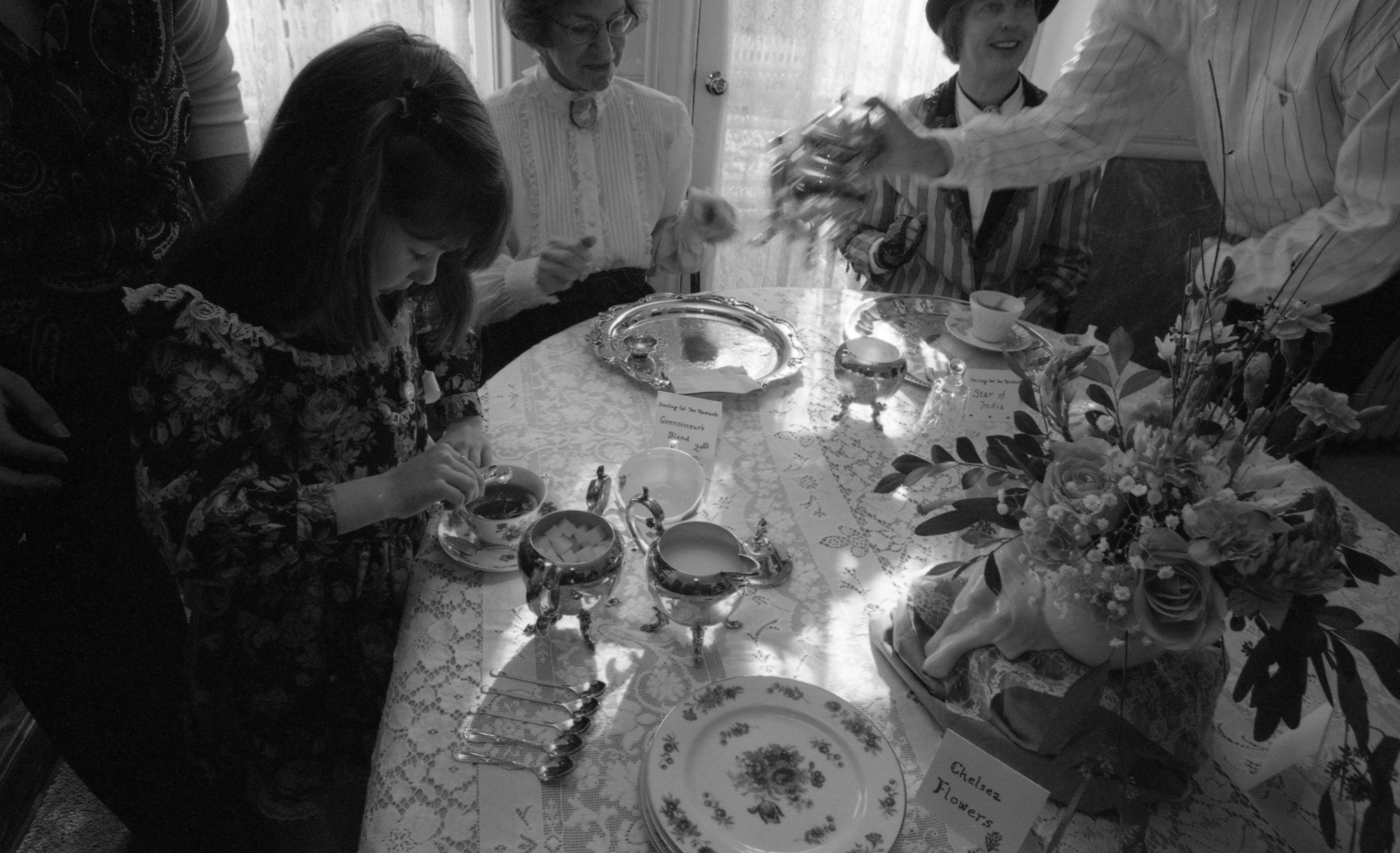 Victorian Tea Party At Kempf House Museum February 1997