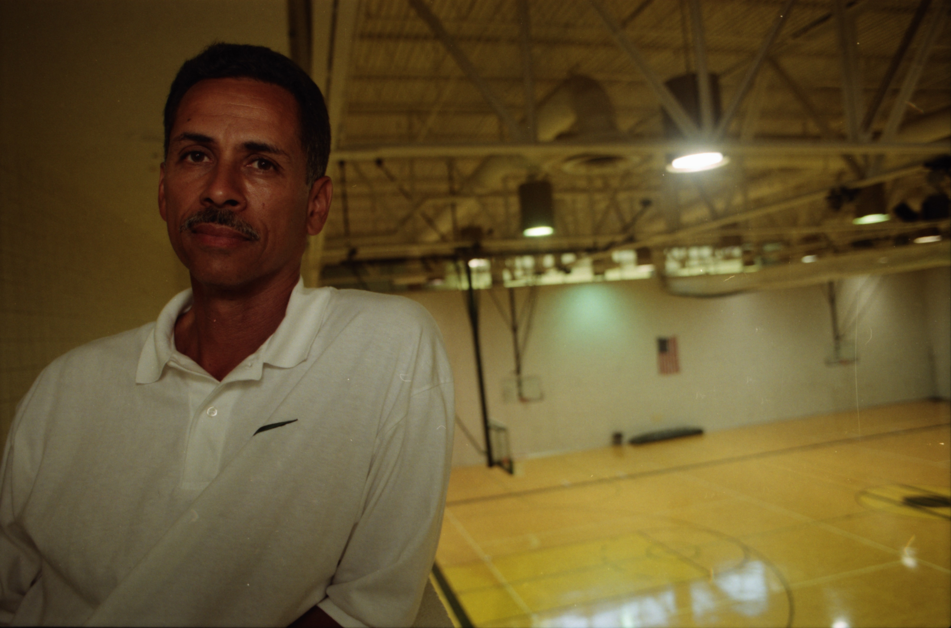 Retiring Huron Basketball Coach Harold Simons Says Goodbye to the Court, September 1998 image
