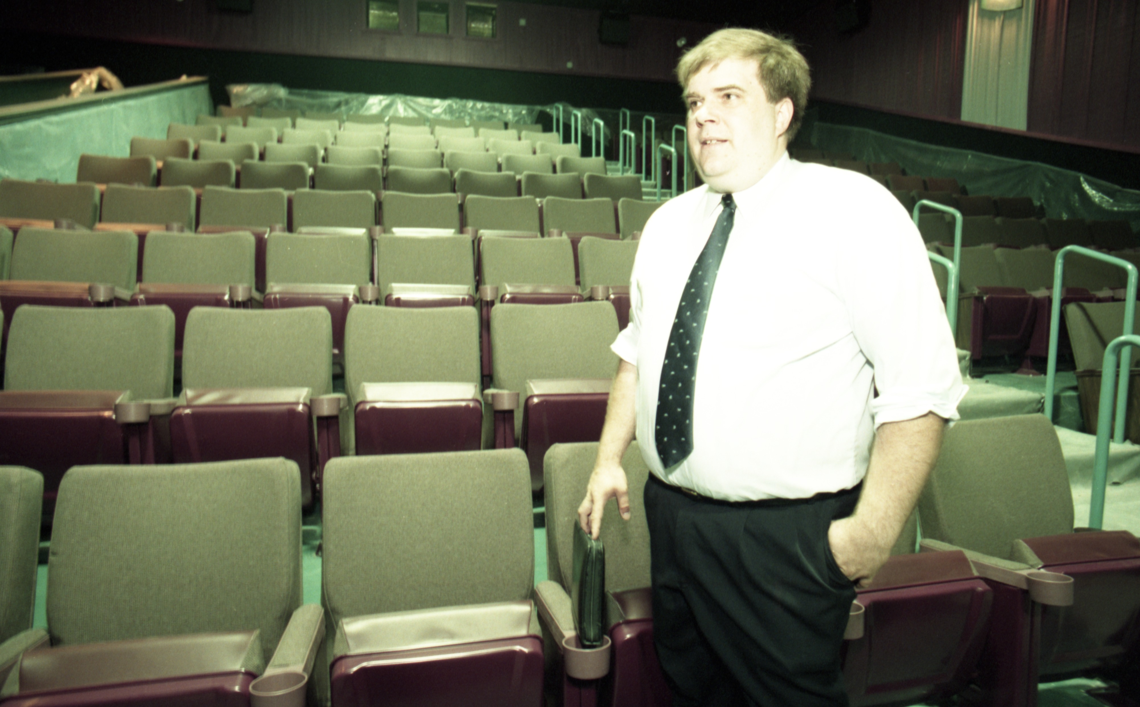 Goodrich Theaters' Quality 16 Cinemas, Manager Brad Miller, July 1999 image