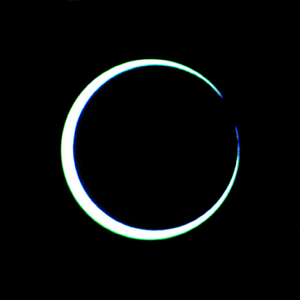 Solar Eclipse, May 10, 1994 image