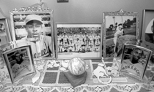 Melvin Duncan's Mementos Of His Days As A Baseball Player, July 8, 1995 image