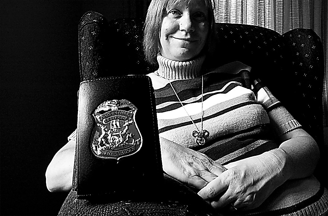 Althea Duede - Retired Ann Arbor Police Officer, August 2001 image