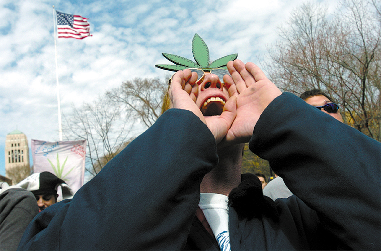 Woody Rose Enjoys The Annual Hash Bash, April 4, 2004 image