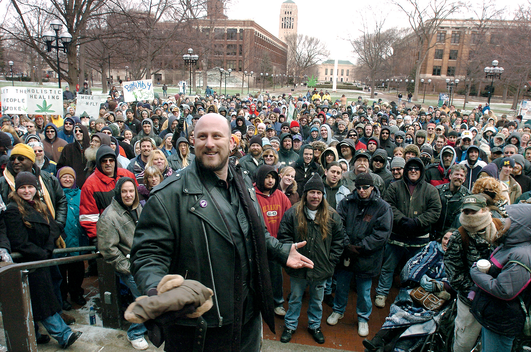 Adam Brook, Hash Bash Organizer, April 8, 2007 image