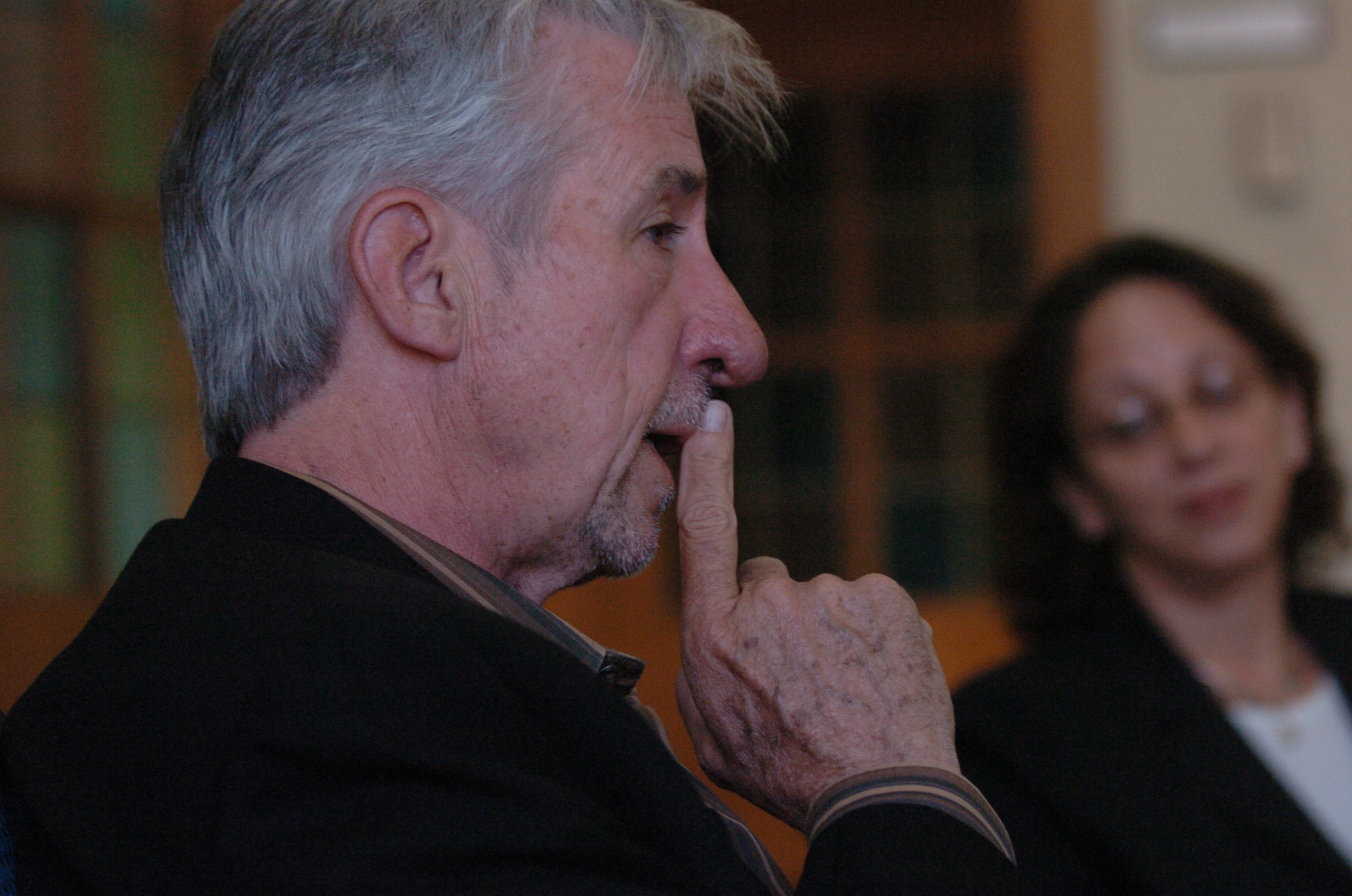 Tom Hayden Speaks at University of Michigan on Iraq War, April 2007 image