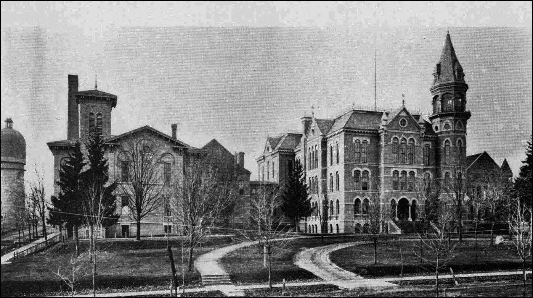 Old Pierce Hall, Michigan State Normal School image
