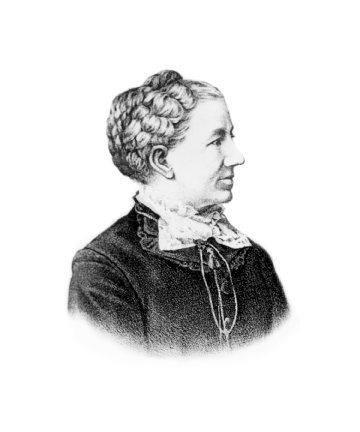 Portrait of Mary Foster, Ann Arbor's first female lawyer image