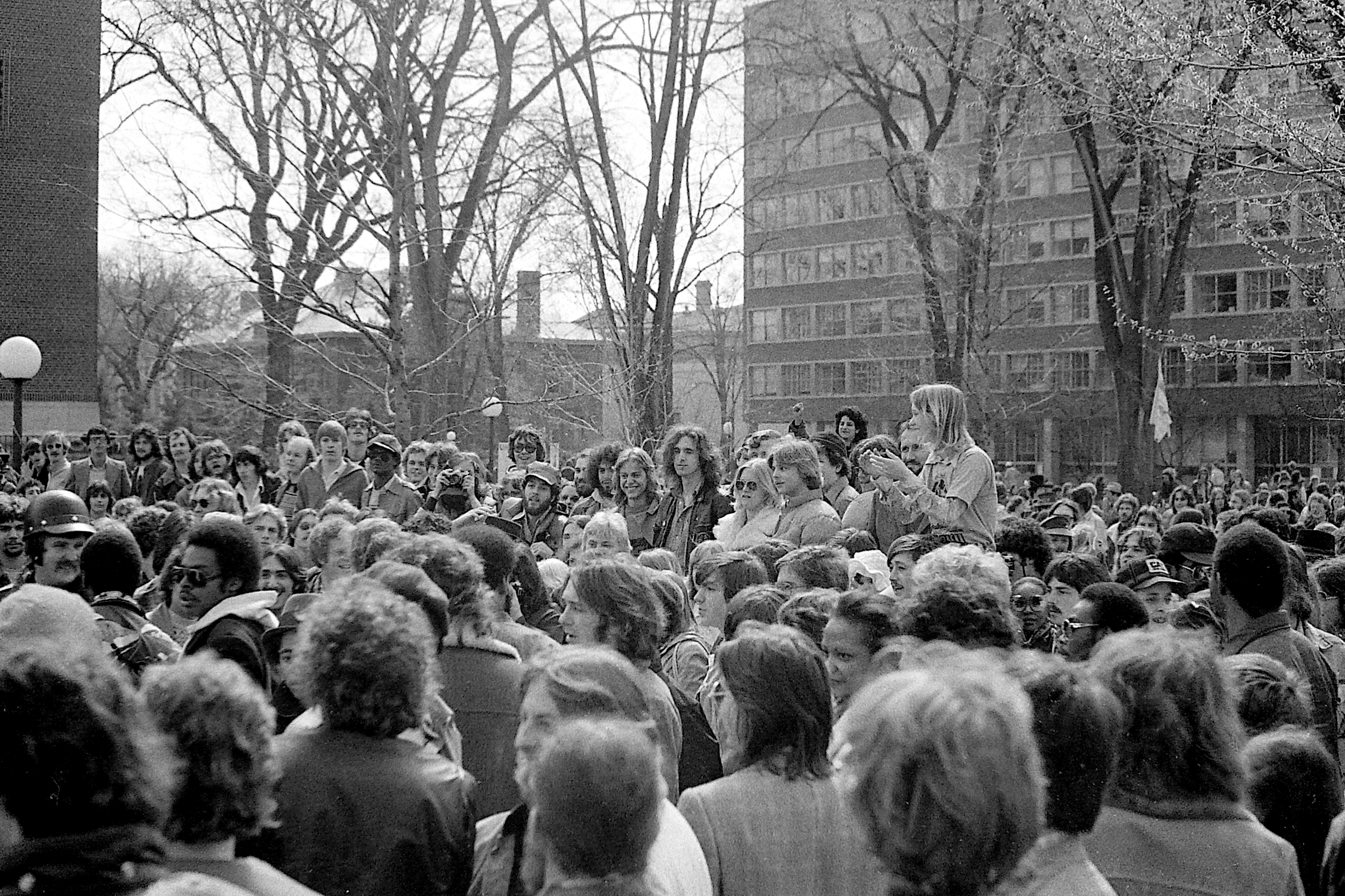 Teach-In On The Diag, 1977 image