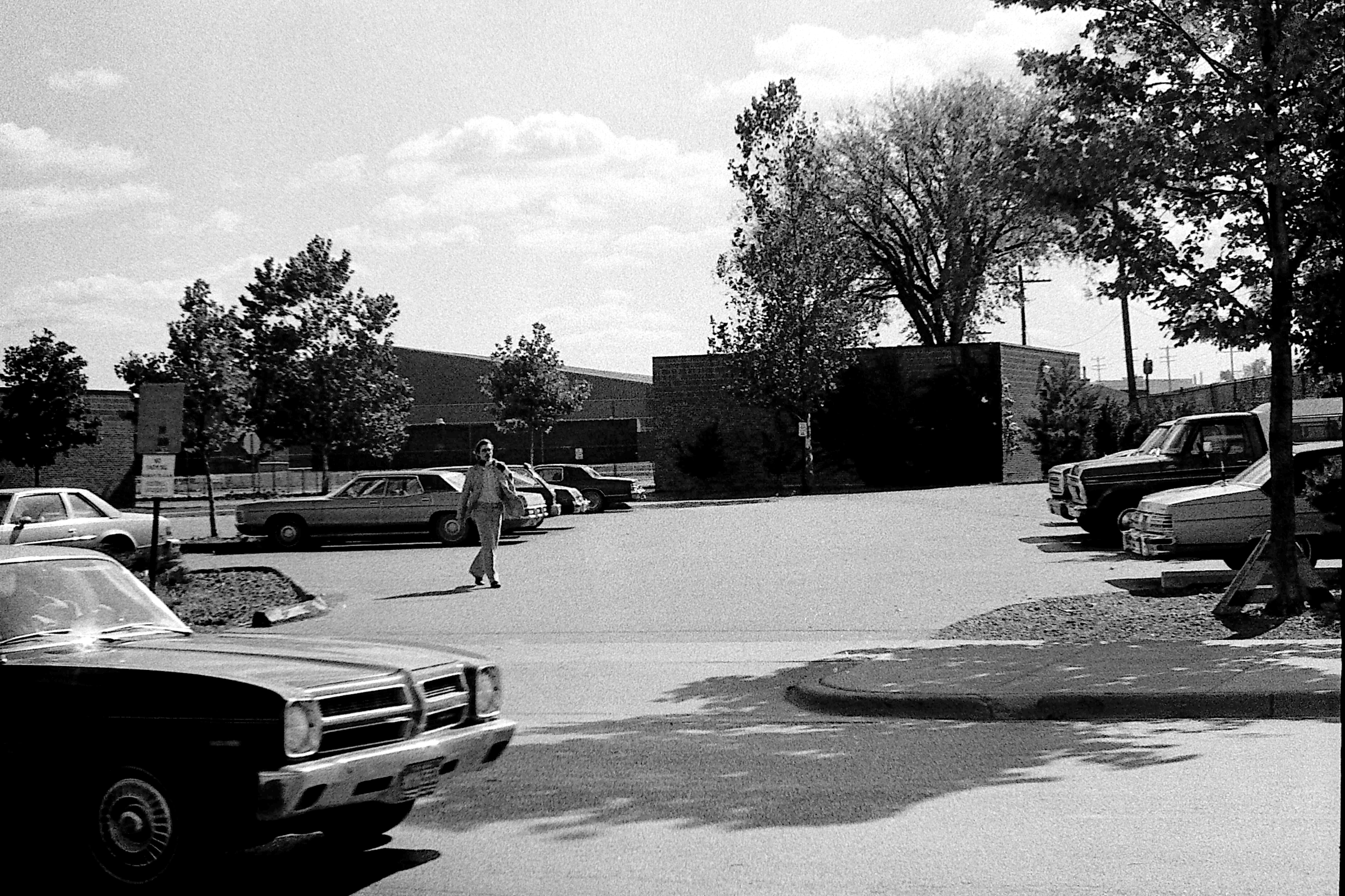 Parking Lot at Revelli Hall, 1977 image