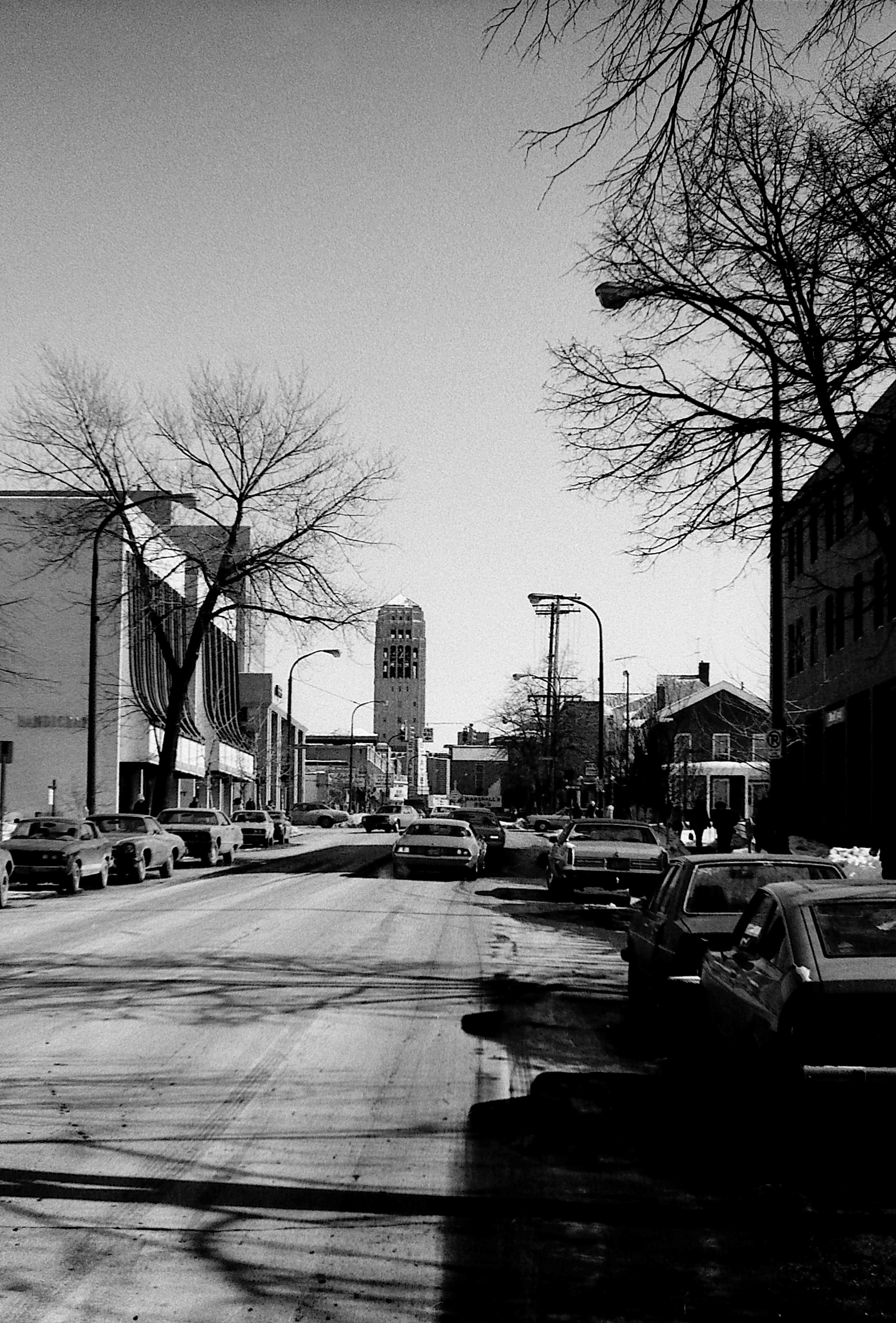 Looking East on Liberty Street from S Division, 1978 image