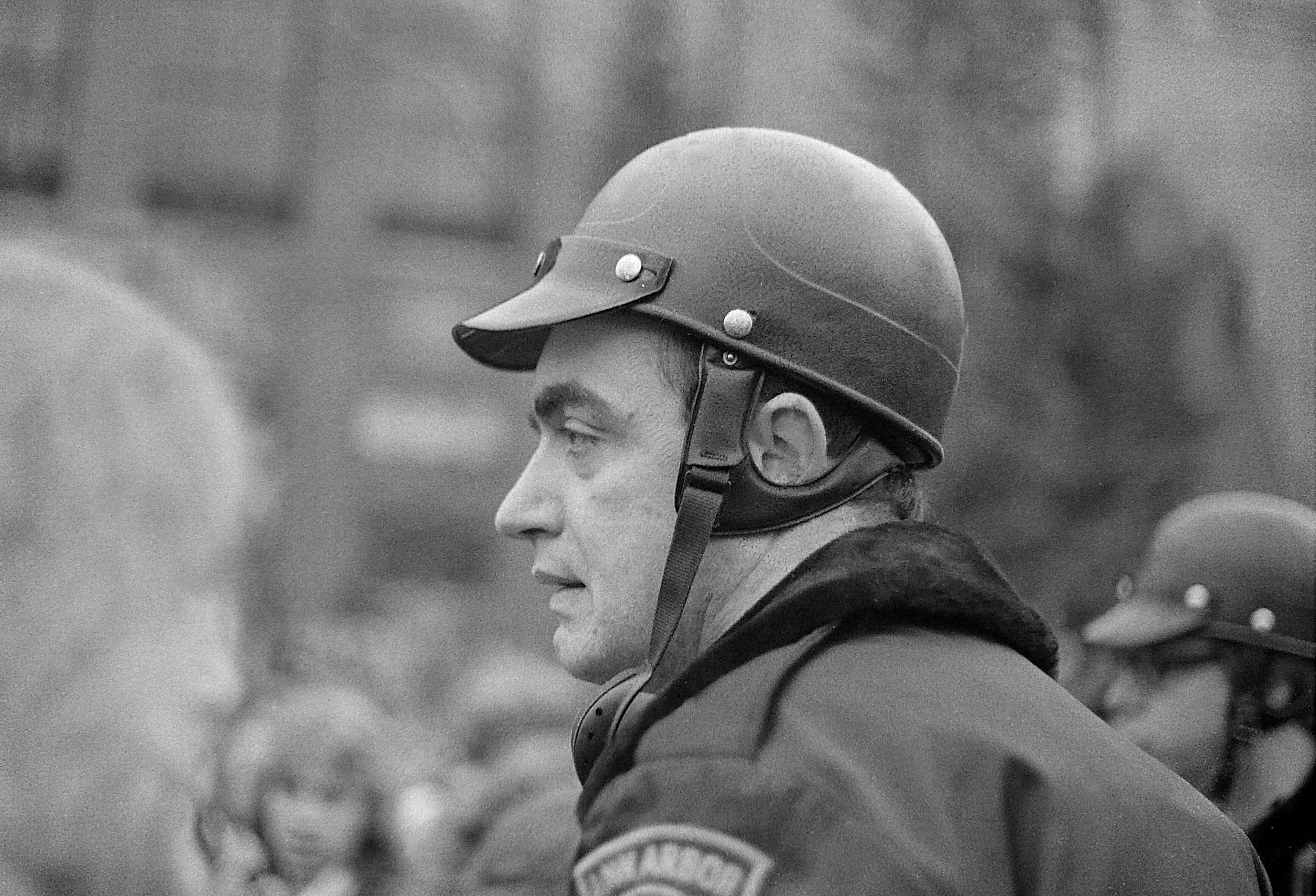 Walter Lunsford, Ann Arbor Police Department, At Hash Bash, April 1978 image