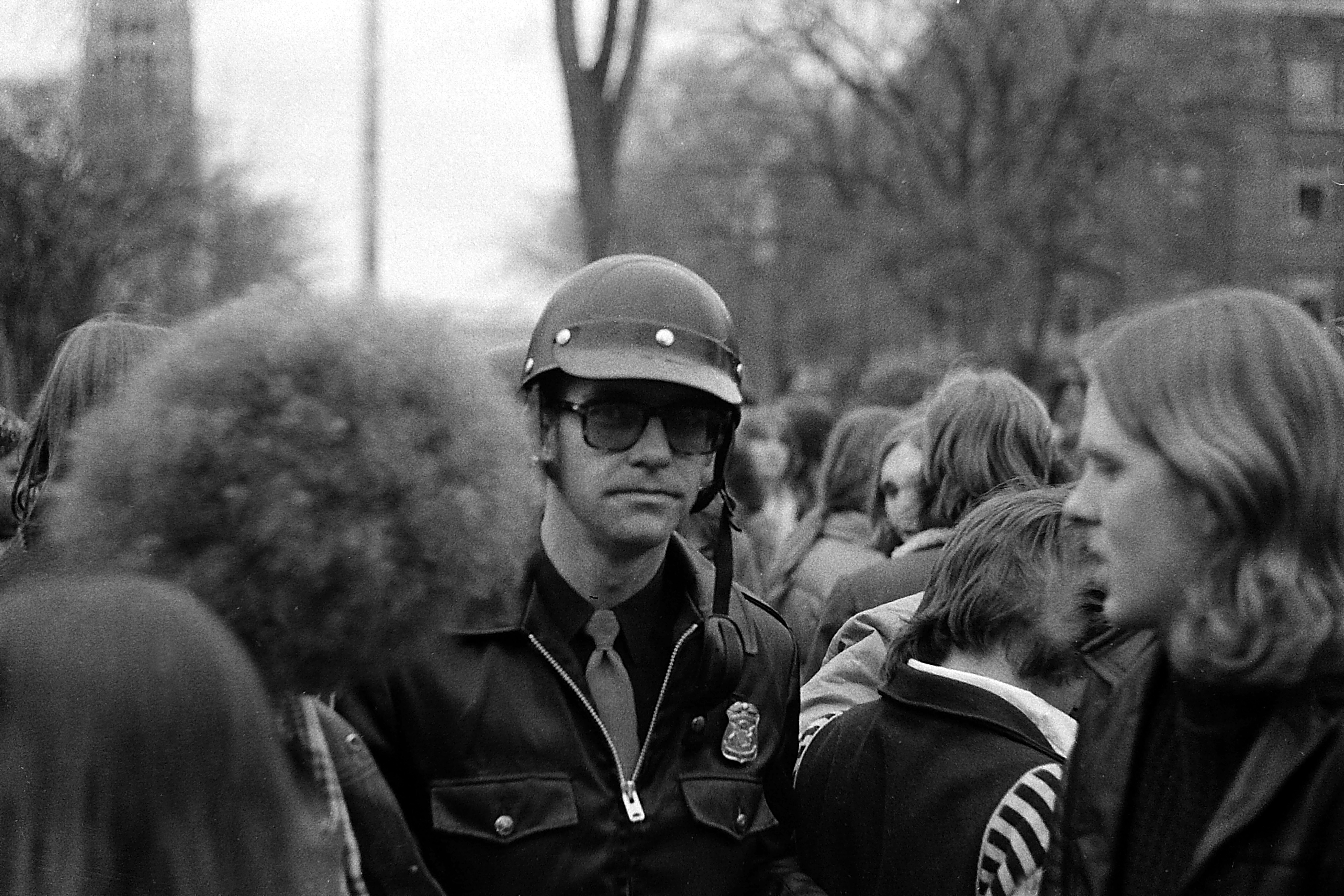 Central Campus During Hash Bash, April 1978 image