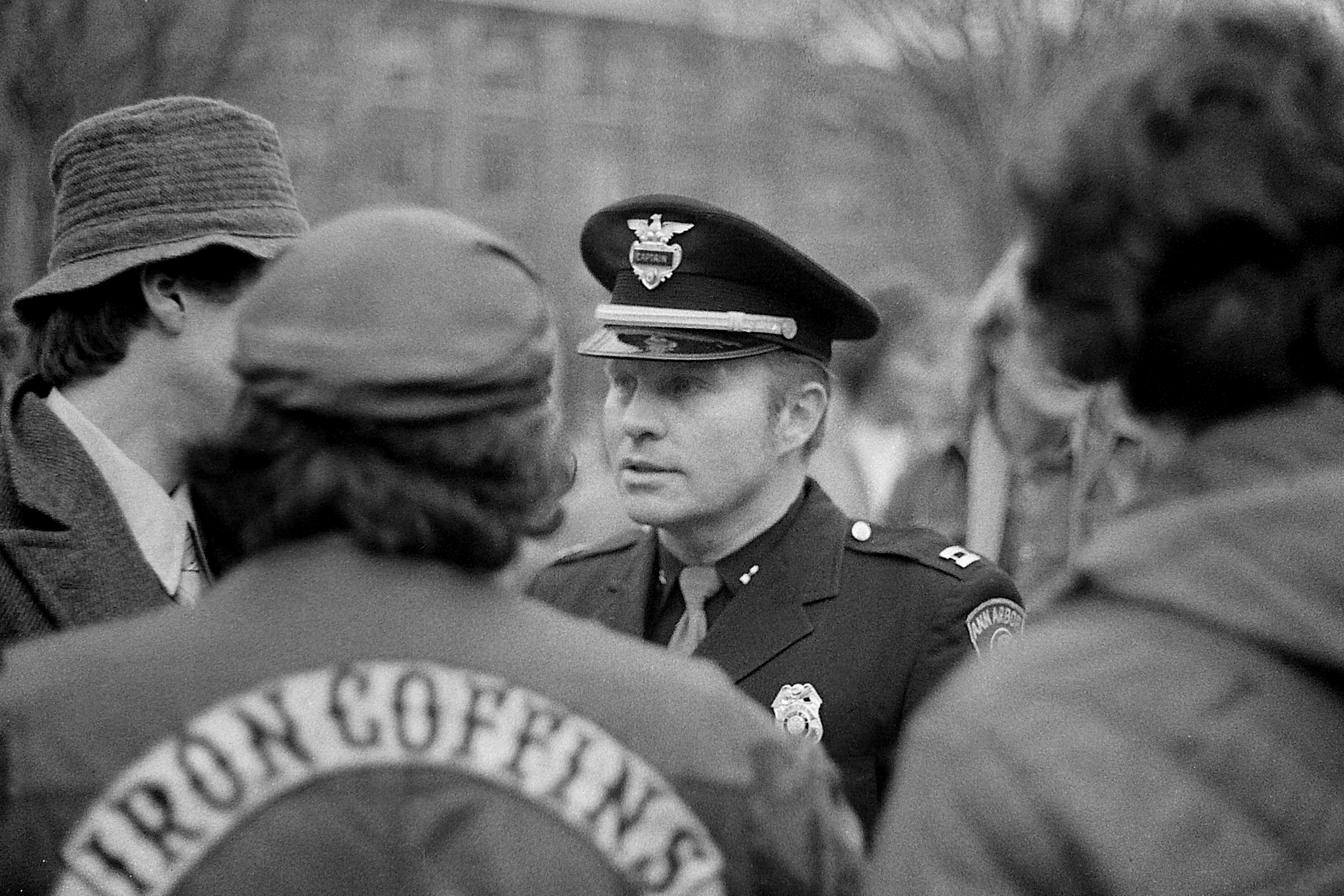 Police At Hash Bash, 1978 image