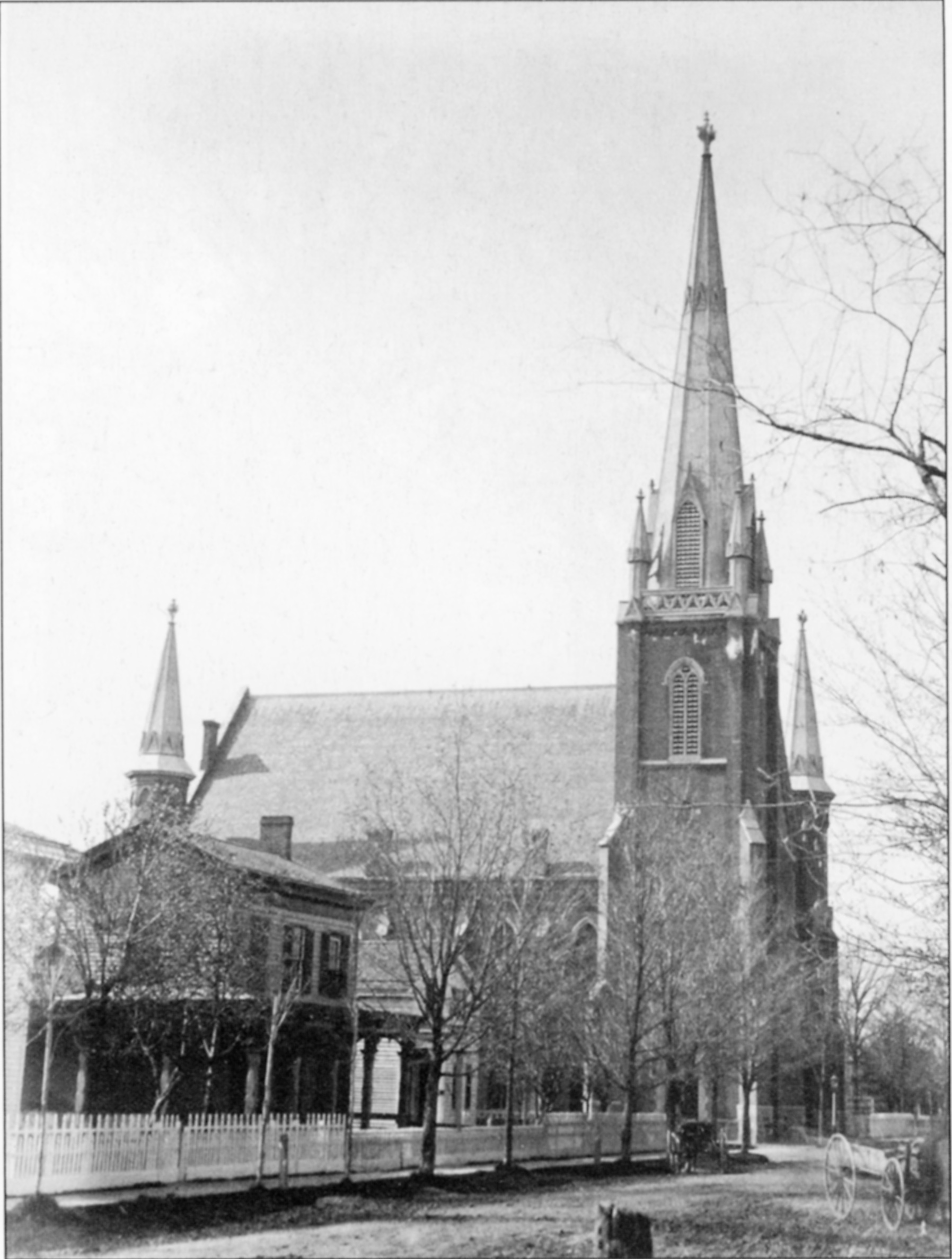 First Methodist Episcopal church, 1866 image