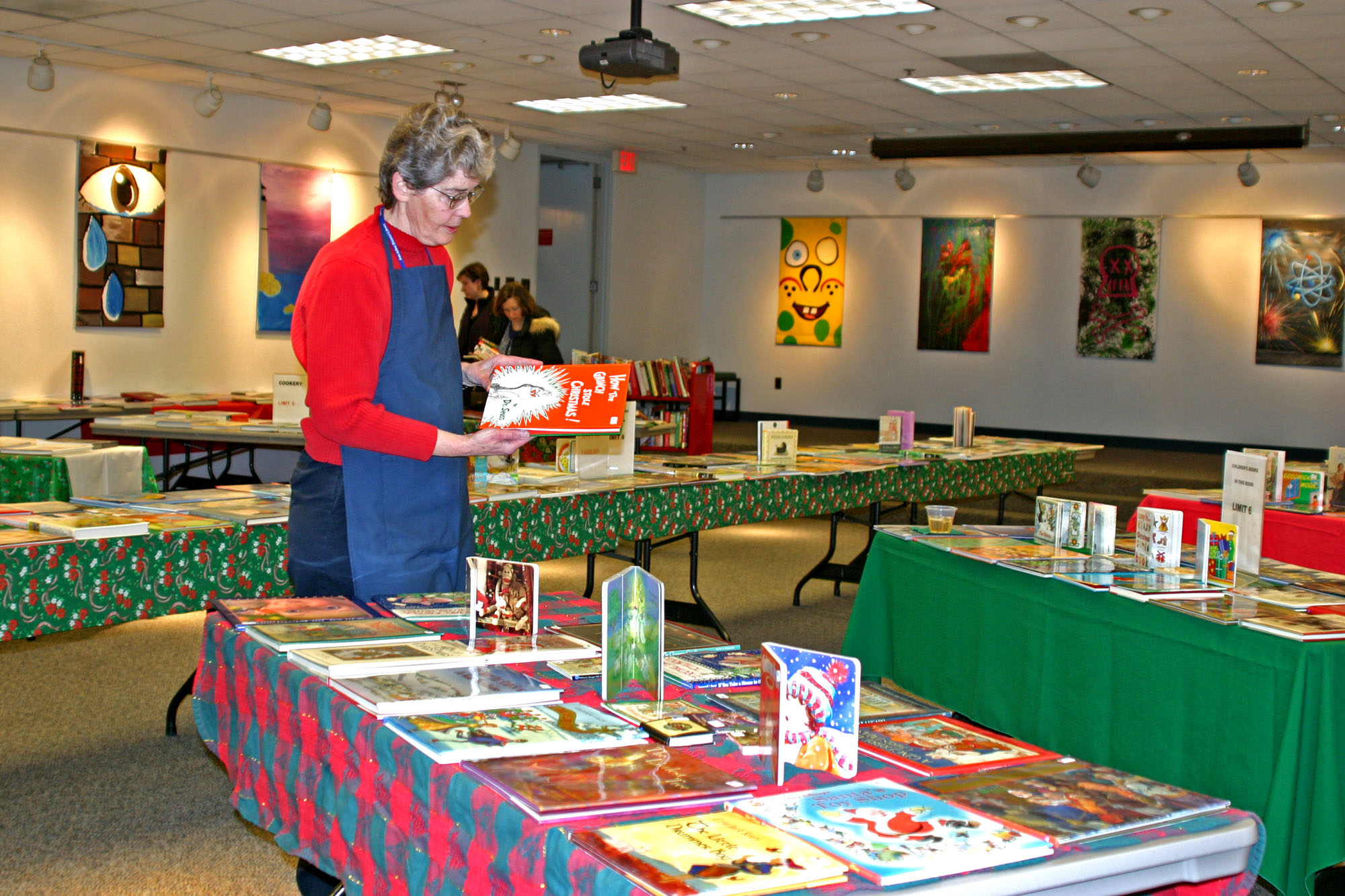 Holiday Book Sale.  December, 2004 image