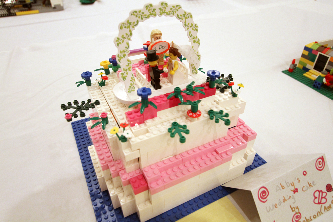 Abby Dobson S Wedding Cake Image