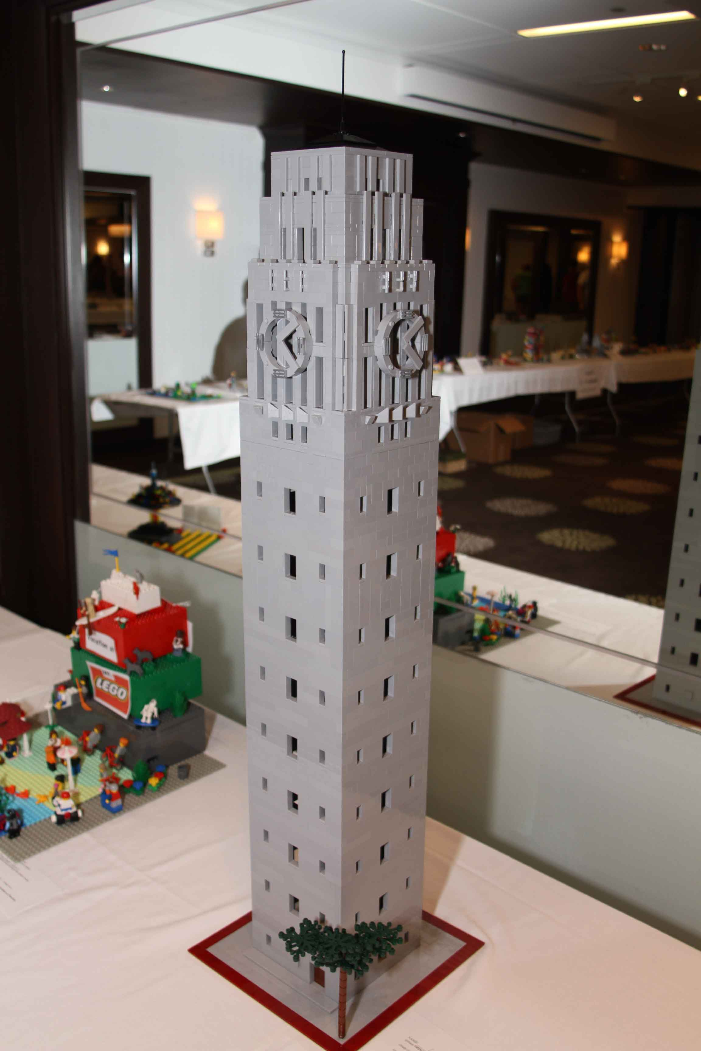 Burton Tower, 1st Place Adult, 2011 LEGO Contest image