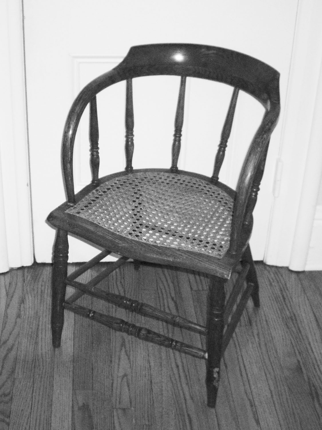 Low-Back Armchair, circa 1850-1900 image