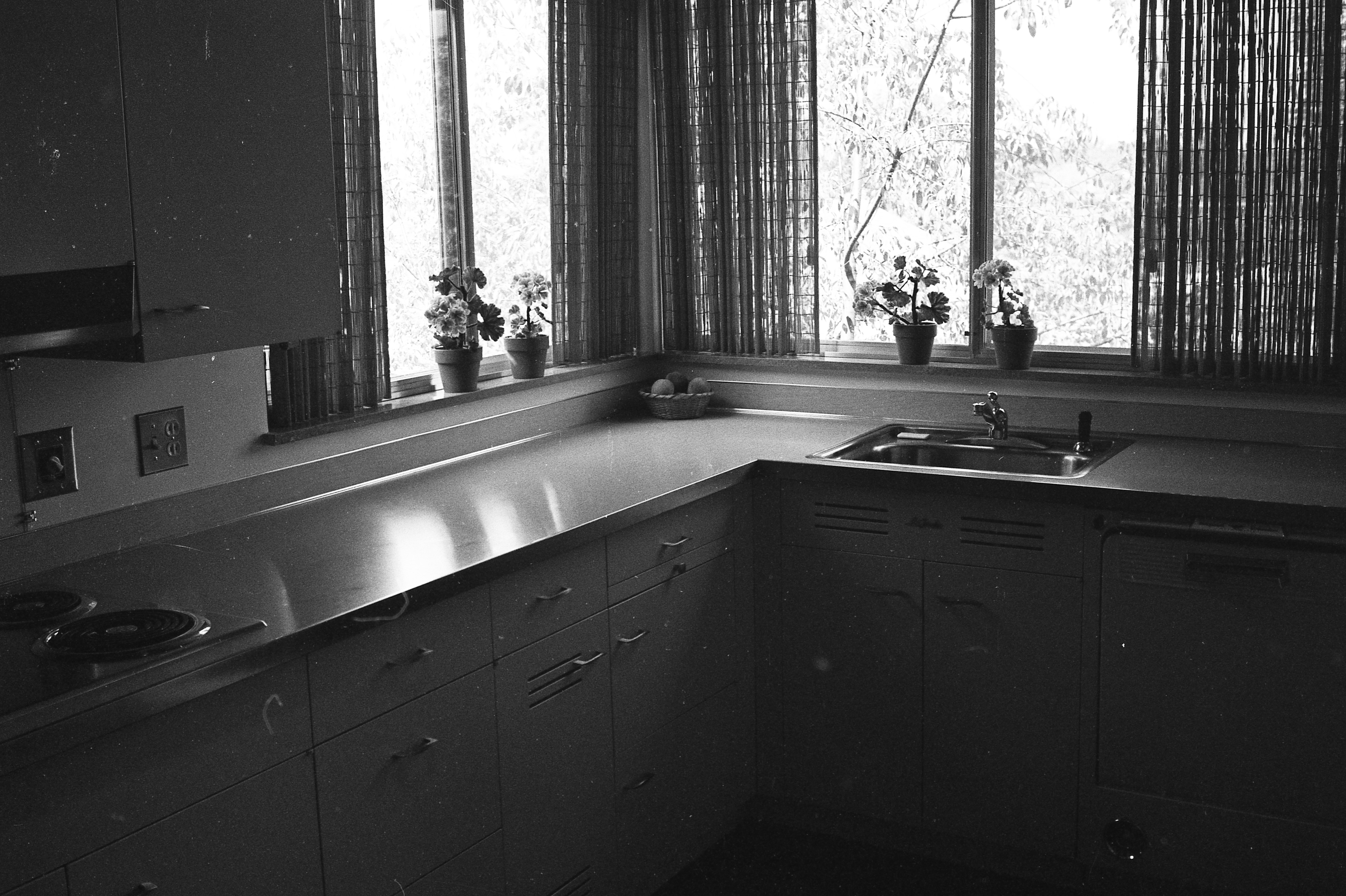 Kitchen of Clare and Carmen Schwegler Home on Londonderry Rd, August 1958 image