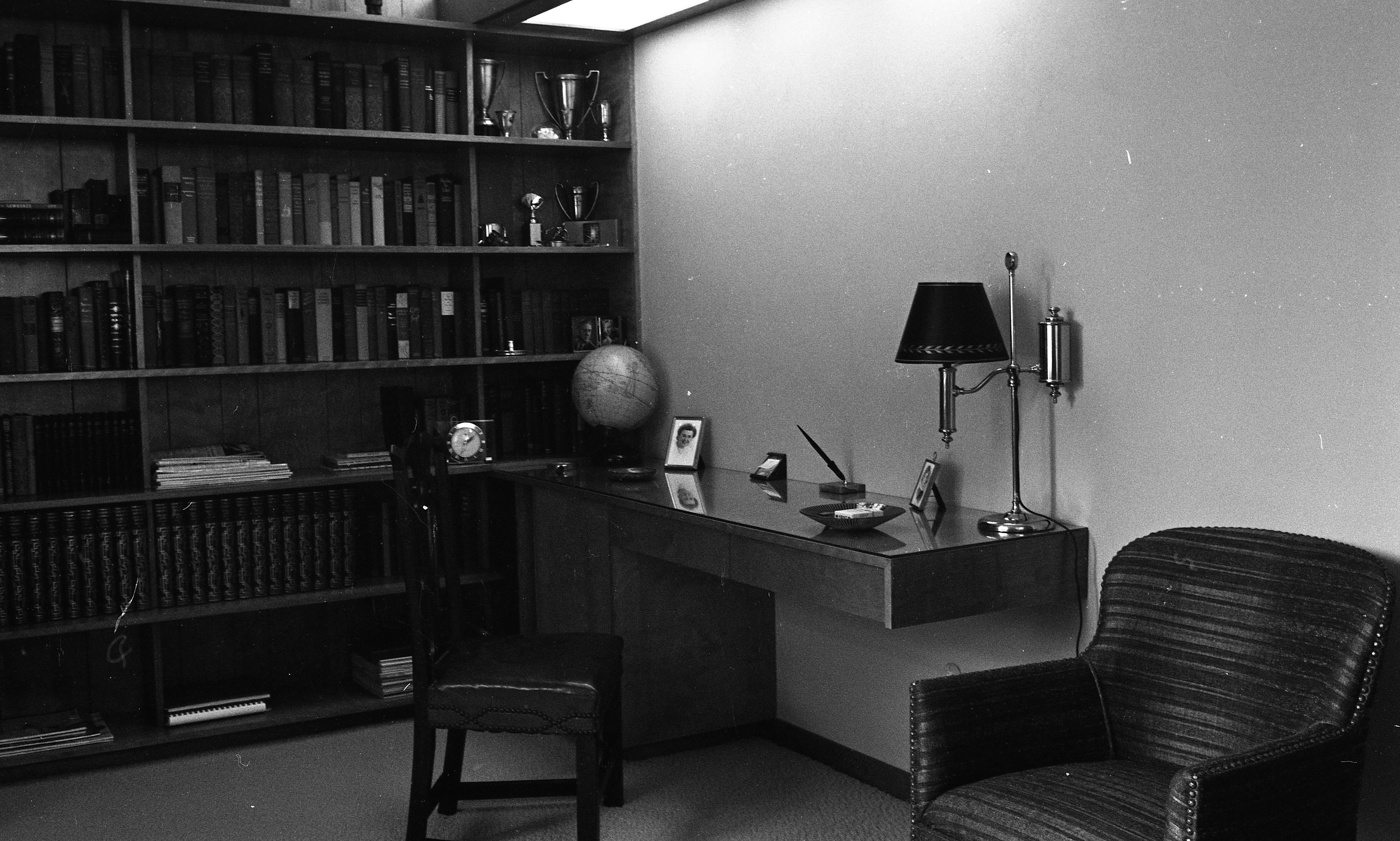 Study-Guest Room of Clare and Carmen Schwegler Home on Londonderry Rd, August 1958 image
