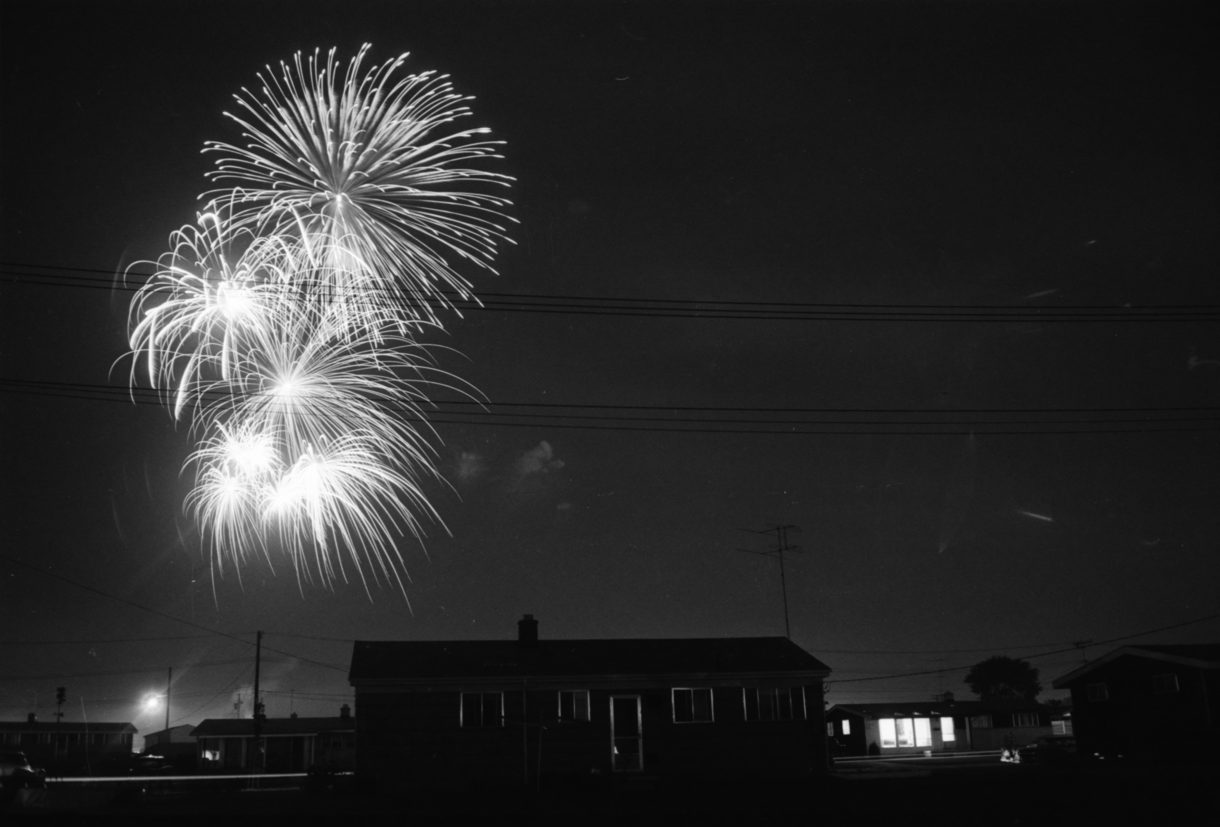 Fireworks Display At Buhr Park, July 1959 image