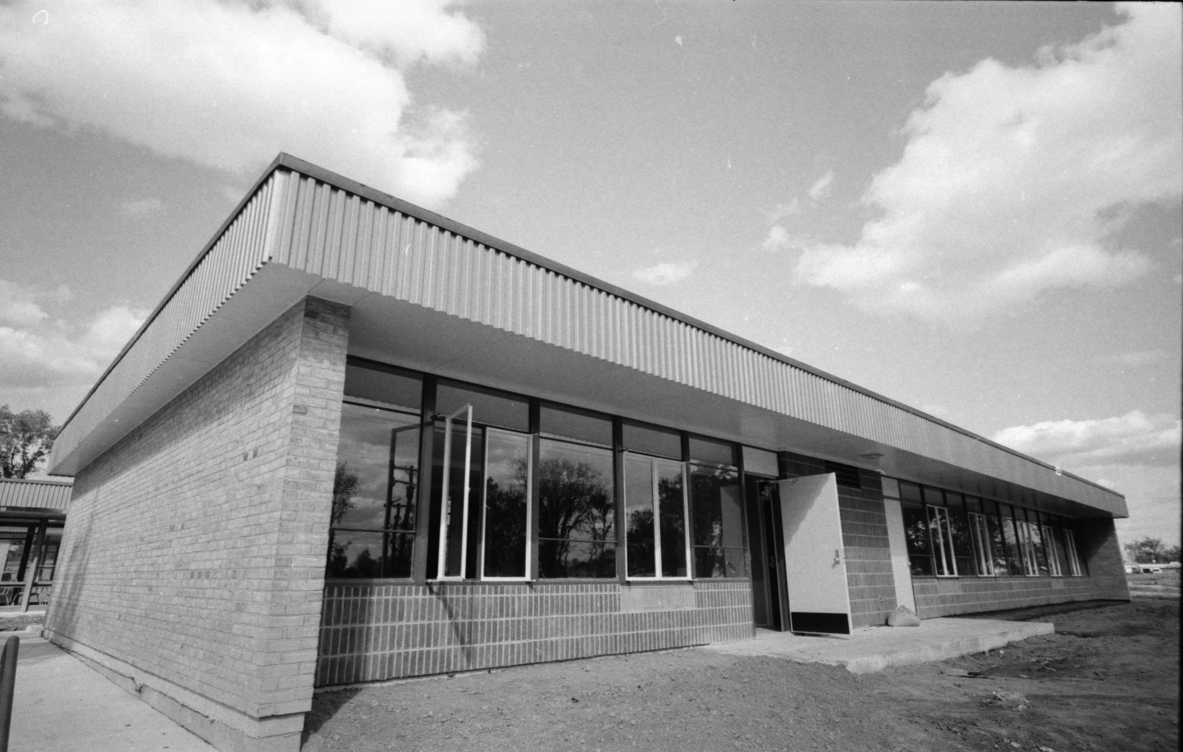 Newly completed Abbot Elementary School, September 1962 image