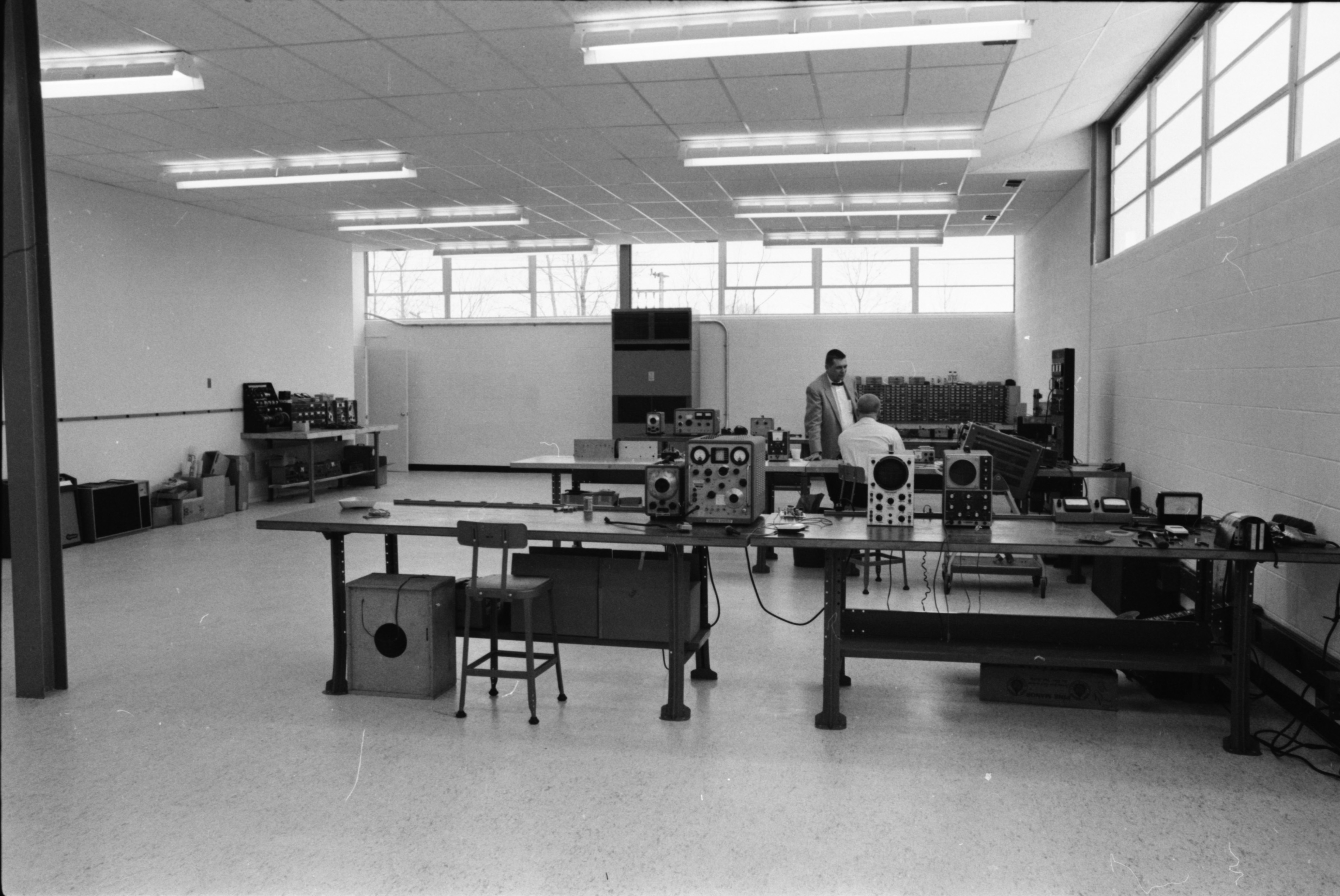 Berry Electronics Division Lab at Ann Arbor Research Park, February 1965 image