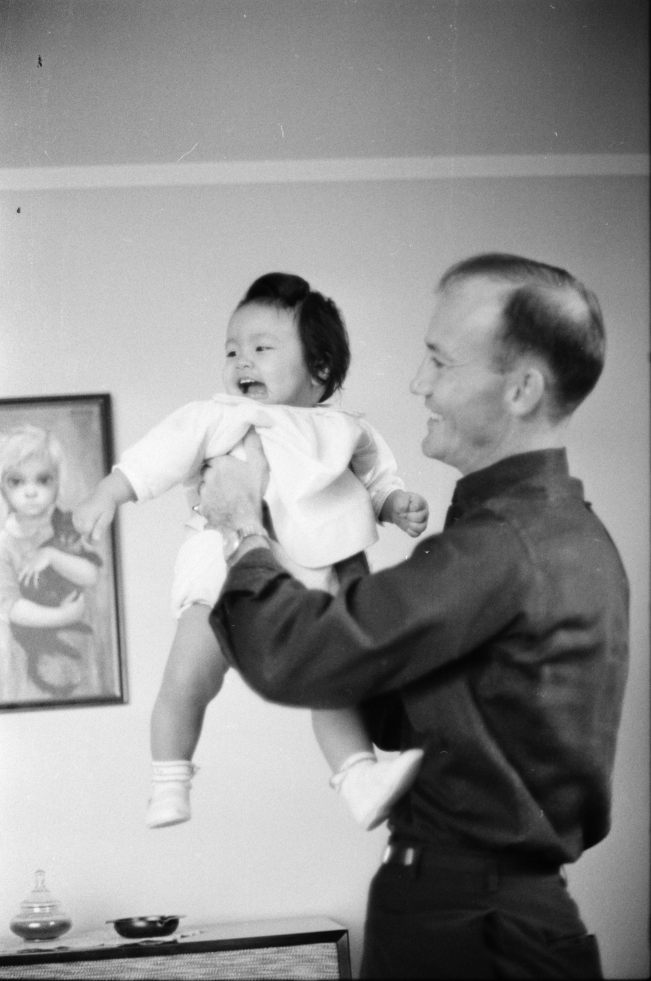 Mr. & Mrs. William C. Kendall and Baby Adopted From Vietnam image