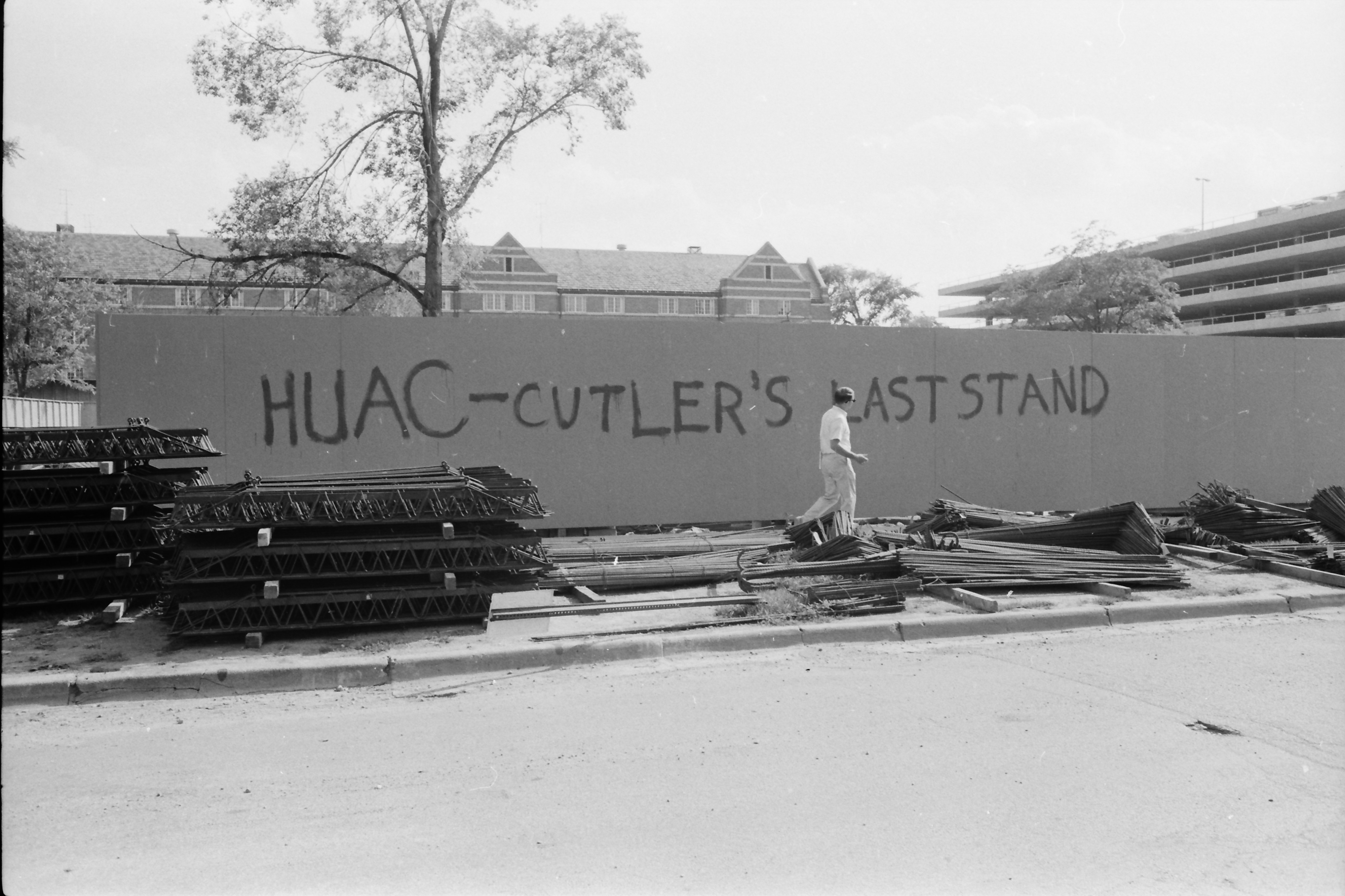 Graffiti, HUAC Sit-in Demonstration, August 1966 image