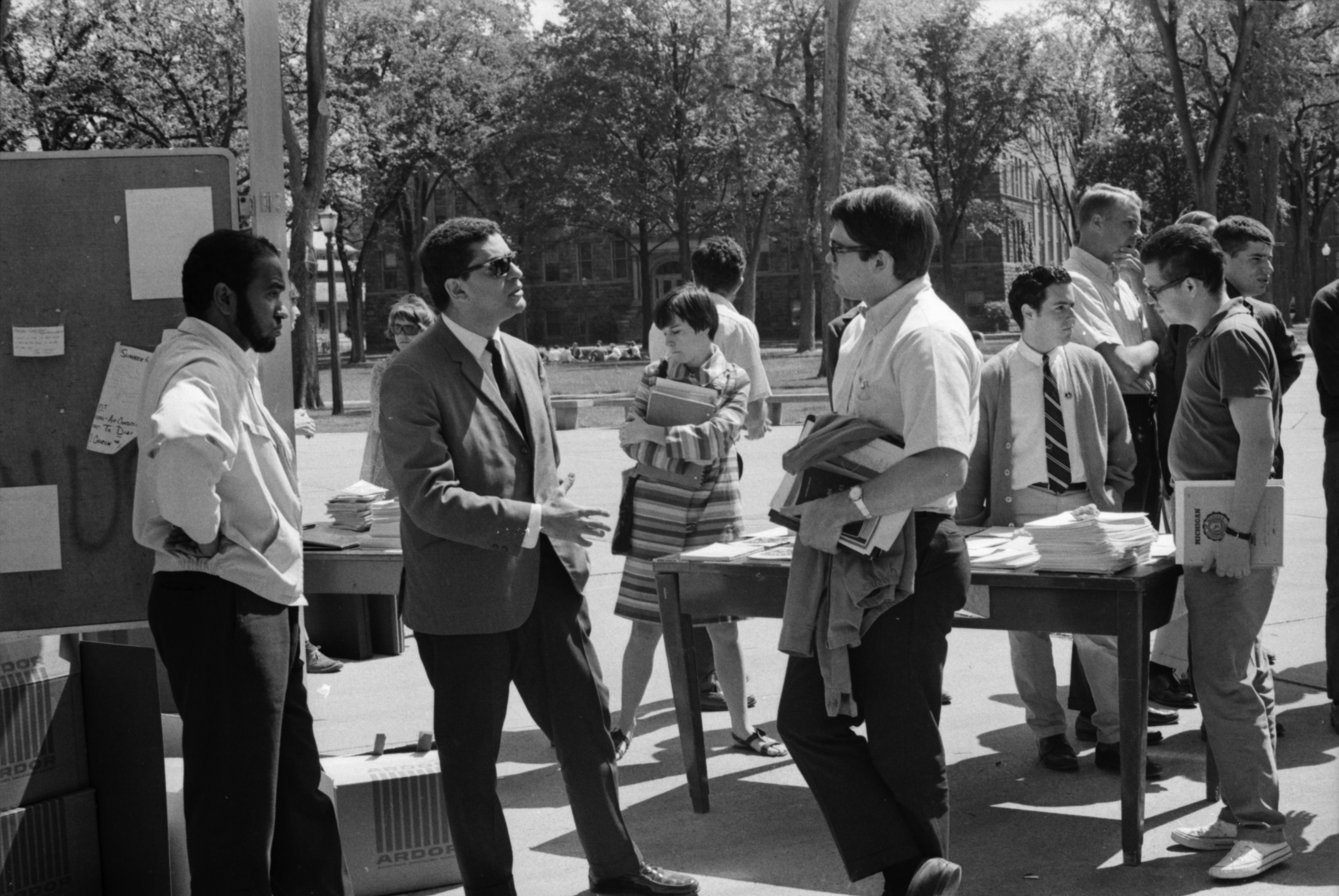 Arab Student Association Teach-In, June 1967 image
