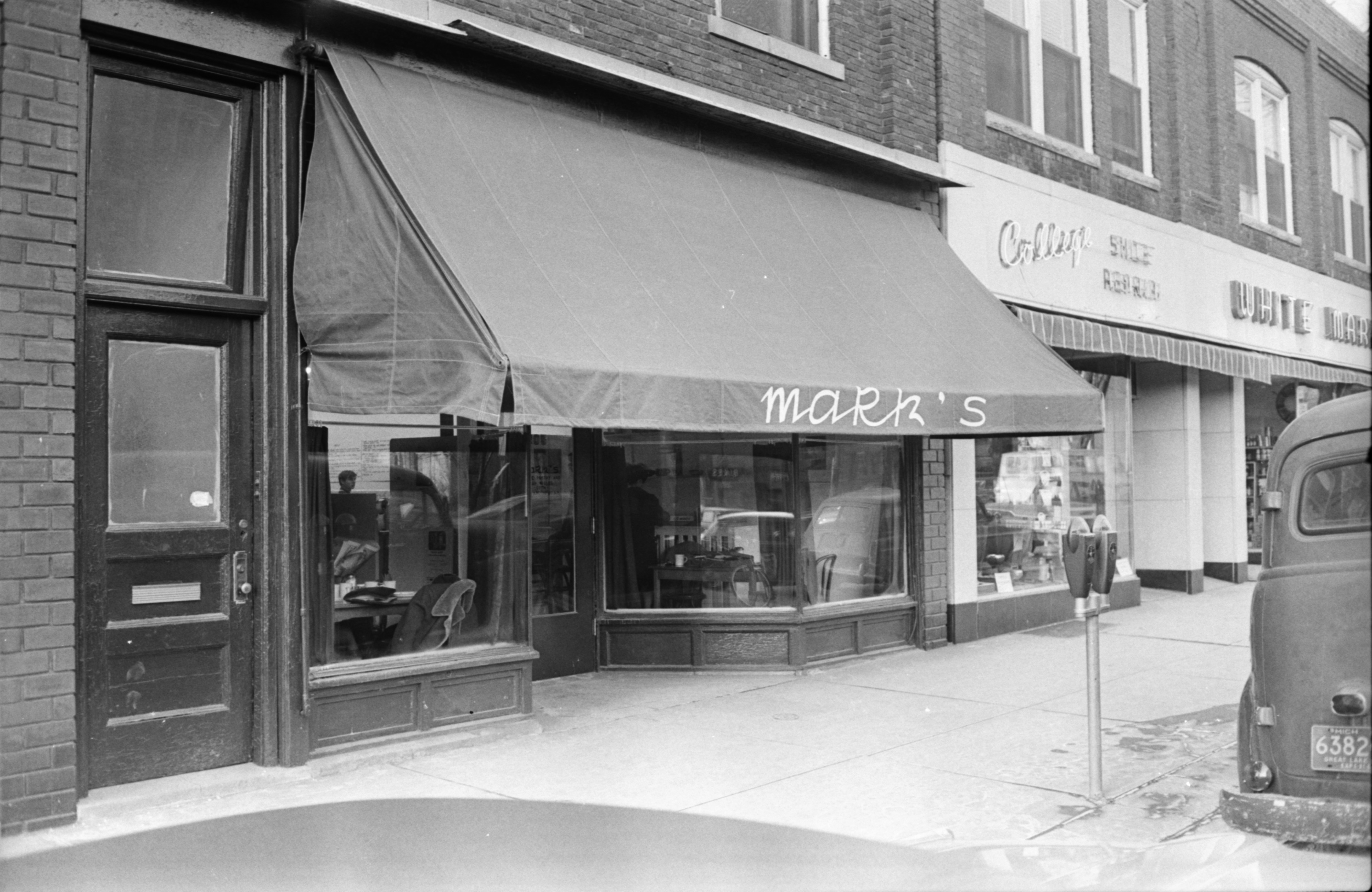 Mark's Coffee House, Exterior, February 1968 image