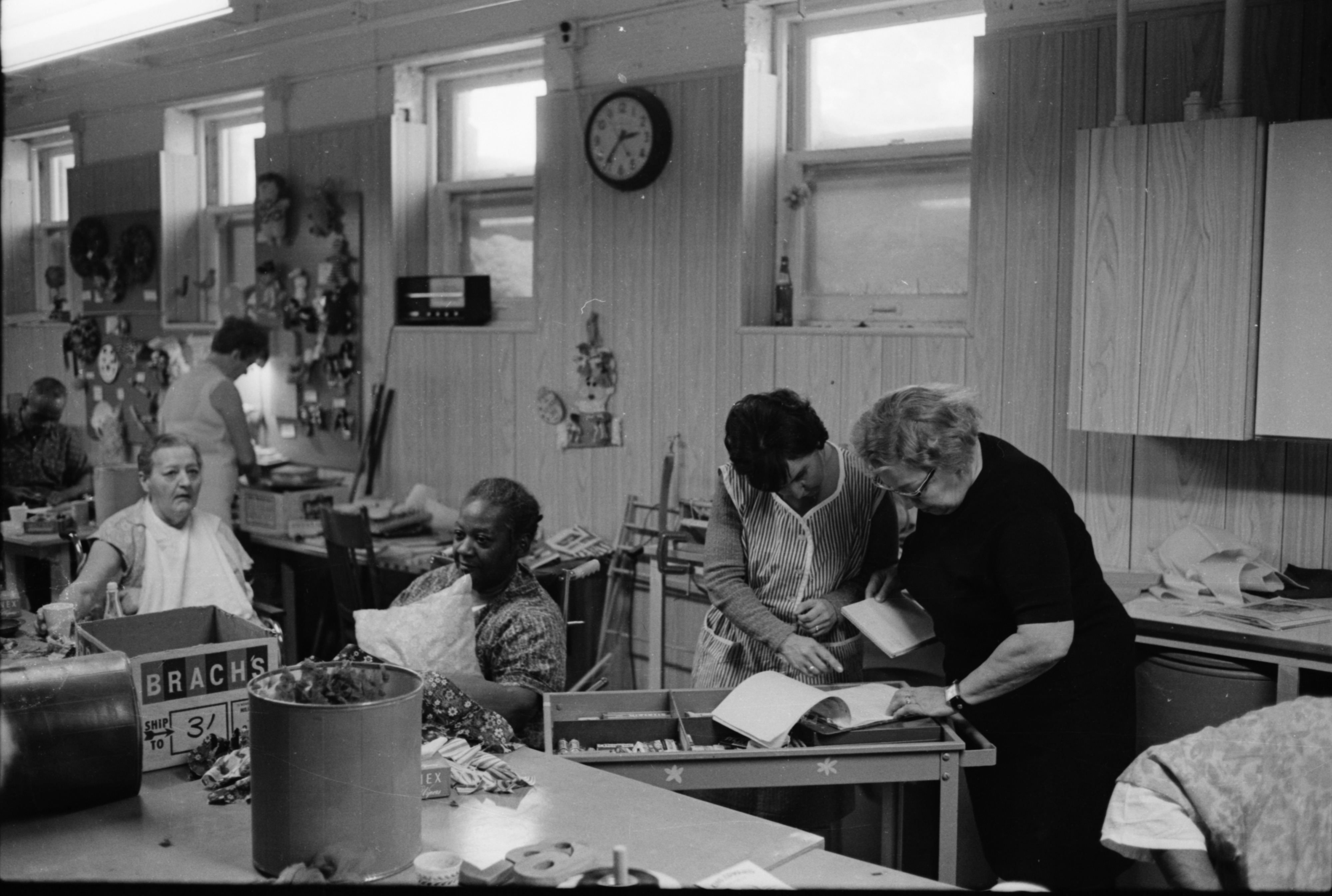 Members Of The Washtenaw Medical Care Facility Auxiliary, February 1969 image